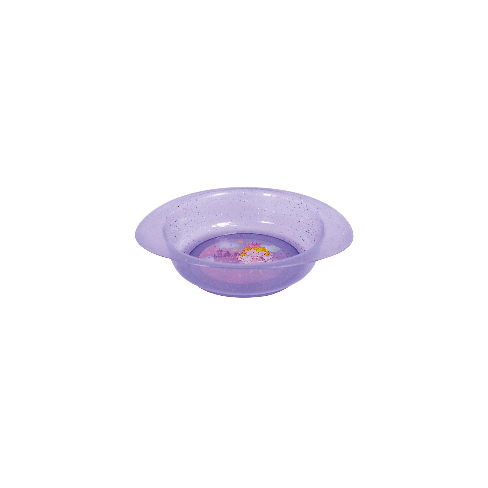 Тарелочка для первых блюд, Kurnosiki, фиолетовыйХарактеристики:<br><br>• Наименование: тарелочка для первых блюд<br>• Материал: пластик<br>• Пол: для девочки<br>• Цвет: фиолетовый<br>• Тематика рисунка: принцесса, замок<br>• Можно использовать как для холодных, так и для горячих блюд<br>• Можно использовать для СВЧ<br>• Удобные ручки с антискользящей поверхностью<br>• Декорирована блестками<br>• Вес: 50 г<br>• Параметры (Д*Ш*В): 24*21*5 см <br>• Особенности ухода: разрешается мыть в посудомоечной машине<br><br>Тарелочка для первых блюд, Kurnosiki, фиолетовый выполнена из безопасного и ударопрочного пластика, по бокам имеются литые нескользящие ручки. <br><br>Тарелочка для первых блюд, Kurnosiki, фиолетовый выполнена в ярком дизайне: дно оформлено сюжетной картинкой принцессы на фоне замка, весь корпус декорирован блестками. Рисунок устойчив к выцветанию и истиранию. Тарелочка для первых блюд от Курносиков позволит без труда накормить даже самых непоседливых маленьких принцесс!<br><br>Тарелочку для первых блюд, Kurnosiki, фиолетовый можно купить в нашем интернет-магазине.<br><br>Ширина мм: 70<br>Глубина мм: 100<br>Высота мм: 190<br>Вес г: 85<br>Возраст от месяцев: 4<br>Возраст до месяцев: 36<br>Пол: Женский<br>Возраст: Детский<br>SKU: 5428719