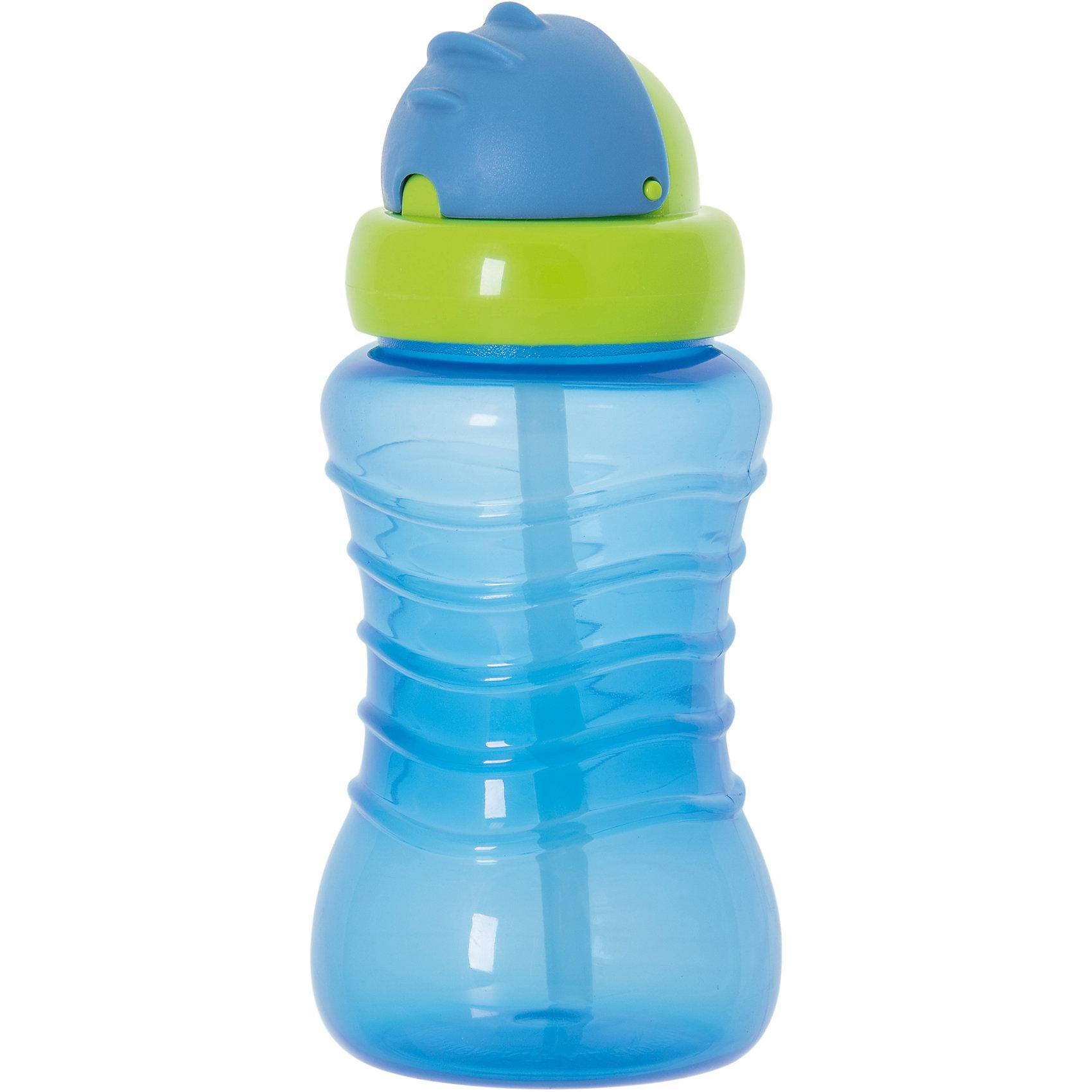 Поильник-непроливайка с соломинкой, 310 мл, Kurnosiki, голубойПоильники<br>Характеристики:<br><br>• Предназначение: для приучения к кружке, для занятий спортом<br>• Материал: пластик, силикон<br>• Пол: для мальчика<br>• Цвет: голубой<br>• Тематика рисунка: без рисунка<br>• Объем: 310 мл<br>• Наличие силиконовой соломинки<br>• Крышка-клапан<br>• Можно использовать как для холодных, так и для горячих напитков<br>• Вес: 120 г<br>• Особенности ухода: разрешается мыть в посудомоечной машине<br><br>Поильник-непроливайка с соломинкой, 310 мл, Kurnosiki, фиолетовый изготовлен из безопасного и ударопрочного пластика, устойчивого к появлению царапин и сколов. Изделие выполнено в стильном спортивном дизайне. Внутри бутылки имеется мягкая силиконовая трубочка, которая выдвигается при нажатии на крышку. <br><br>Для защиты от проливания у поильника предусмотрена герметичная крышка. Поильник-непроливайка с соломинкой, 310 мл, Kurnosiki, фиолетовый станет незаменимым атрибутом не только для приучения малыша к кружке, но и во время занятий спортом!<br><br>Поильник-непроливайку с соломинкой, 310 мл, Kurnosiki, фиолетовый можно купить в нашем интернет-магазине.<br><br>Ширина мм: 70<br>Глубина мм: 80<br>Высота мм: 230<br>Вес г: 87<br>Возраст от месяцев: 6<br>Возраст до месяцев: 36<br>Пол: Мужской<br>Возраст: Детский<br>SKU: 5428739