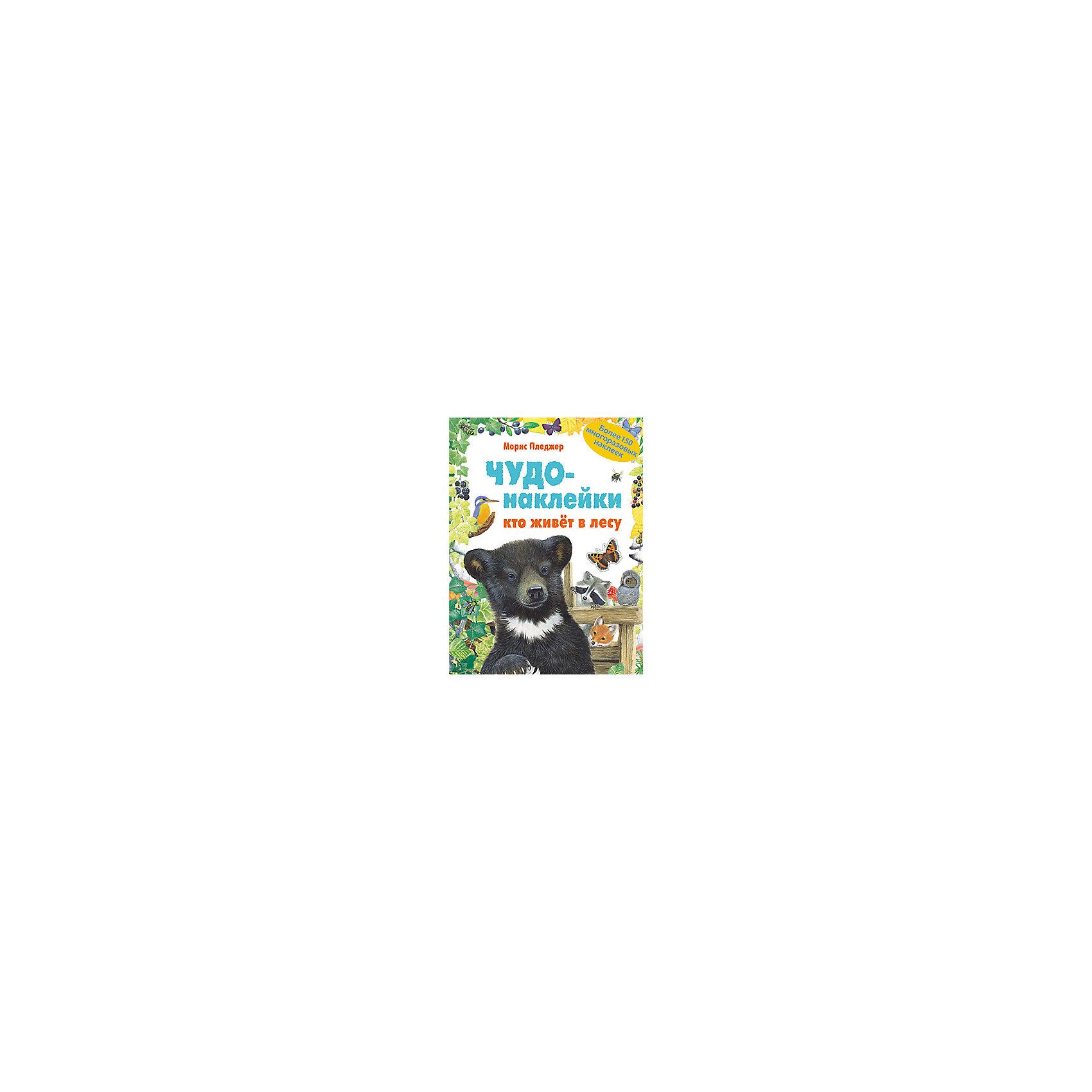 Чудо-наклейки Кто живет в лесу, Мозаика-СинтезТворчество для малышей<br>Чудо-наклейки Кто живет в лесу, Мозаика-Синтез.<br><br>Характеристики:<br><br>• Издательство: МОЗАИКА-СИНТЕЗ<br>• ISBN: 9785867759230<br>• Тип: книга с многоразовыми наклейками.<br>• Раздел знаний: ознакомление с окружающим миром.<br>• Возраст: 5-7 лет.<br>• Размер книги: 280х215х40мм.<br>• Количество страниц: 70.<br><br>Чудо-наклейки.Кто живет в лесу. Эта красочная забавная книга с наклейками поможет совершить увлекательное путешествие по лесу, узнать кто в нем живет. Подбирайте нужные наклейки, составляйте свои картинки. Наклейки находятся в конце книги. Они многоразовые, их можно использовать не только в этой книге, но и в блокнотах, альбомах. В книге 70 страниц с заданиями и 150 красочных наклеек. <br><br>Работа с наклейками – занятие не только увлекательное, но и полезное. Оно способствует развитию воображения, мелкой моторики рук, координации движения. Книга позволяет детям лучше узнать окружающий мир, способствует интеллектуальному развитию малыша.<br><br>Чудо-наклейки Кто живет в лесу, Мозаика-Синтез, можно купить в нашем интернет – магазине<br><br>Ширина мм: 9<br>Глубина мм: 215<br>Высота мм: 280<br>Вес г: 536<br>Возраст от месяцев: 60<br>Возраст до месяцев: 84<br>Пол: Унисекс<br>Возраст: Детский<br>SKU: 5428885