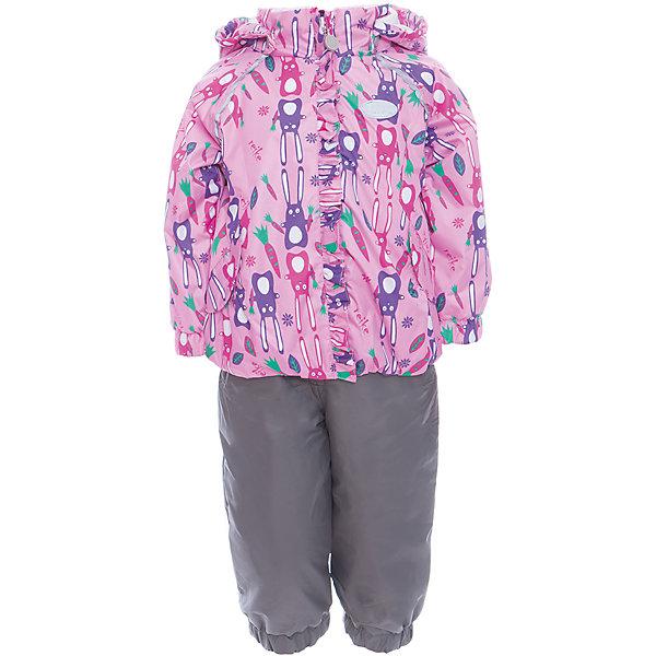 Комплект Reike для девочкиВерхняя одежда<br>Характеристики товара:<br><br>• цвет: розовый/серый<br>• состав: 100% полиэстер<br>• подкладка: 100% хлопок, с комфортными велюровыми вставками на воротнике и манжетах<br>• утеплитель: 100% полиэстер; в куртке -60 гр., полукомбинезон без утеплителя<br>• температурный режим: от 0° С до +15° С<br>• из ветрозащитного, водонепроницаемого материала<br>• мембранная технология позволяет телу дышать<br>• воздухопроницаемость: 2000гр/м2/24 ч<br>• водоотталкивающее покрытие: 2000 мм<br>• ветрозащитная планка в виде рюши не допускает проникновения холодного воздуха<br>• эластичная талия полукомбинезона и регулируемые подтяжки гарантируют посадку по фигуре<br>• длинная молния впереди облегчает процесс одевания<br>• полукомбинезон оснащен боковым карманом на молнии и съемными штрипками<br>• съёмный капюшон<br>• два кармана на липучках<br>• эластичные манжеты на рукавах и внизу брючин<br>• светоотражающие детали<br>• страна бренда: Финляндия<br><br>Демисезонная одежда может быть очень красивой и удобной! Новая коллекция от известного финского производителя Reike отличается ярким дизайном, продуманностью и комфортом! Эта модель разработана специально для детей - она учитывает особенности их физиологии, а также новые тенденции в европейской моде. Стильная и удобная вещь!<br><br>Комплект от популярного бренда Reike можно купить в нашем интернет-магазине.<br>Ширина мм: 215; Глубина мм: 88; Высота мм: 191; Вес г: 336; Цвет: розовый; Возраст от месяцев: 18; Возраст до месяцев: 24; Пол: Женский; Возраст: Детский; Размер: 92,86,80,98; SKU: 5429954;