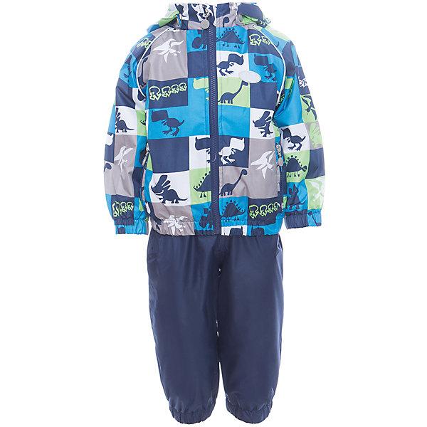 Комплект Reike для мальчикаВерхняя одежда<br>Характеристики товара:<br><br>• цвет: синий<br>• состав: 100% полиэстер<br>• подкладка: 100% хлопок, с комфортными велюровыми вставками на воротнике и манжетах<br>• без утеплителя<br>• температурный режим: от +5° С до +15° С<br>• из ветрозащитного, водонепроницаемого материала<br>• мембранная технология позволяет телу дышать<br>• воздухопроницаемость: 2000гр/м2/24 ч<br>• водоотталкивающее покрытие: 2000 мм<br>• ветрозащитная планка не допускает проникновения холодного воздуха<br>• эластичная талия полукомбинезона и регулируемые подтяжки гарантируют посадку по фигуре<br>• длинная молния впереди облегчает процесс одевания<br>• полукомбинезон оснащен боковым карманом на молнии и съемными штрипками<br>• съёмный капюшон<br>• два кармана на липучках<br>• эластичные манжеты на рукавах и внизу брючин<br>• светоотражающие детали<br>• страна бренда: Финляндия<br><br>Демисезонная одежда может быть очень красивой и удобной! Новая коллекция от известного финского производителя Reike отличается ярким дизайном, продуманностью и комфортом! Эта модель разработана специально для детей - она учитывает особенности их физиологии, а также новые тенденции в европейской моде. Стильная и удобная вещь!<br><br>Комплект от популярного бренда Reike можно купить в нашем интернет-магазине.<br><br>Ширина мм: 215<br>Глубина мм: 88<br>Высота мм: 191<br>Вес г: 336<br>Цвет: синий<br>Возраст от месяцев: 12<br>Возраст до месяцев: 15<br>Пол: Мужской<br>Возраст: Детский<br>Размер: 80,98,92,86<br>SKU: 5429964