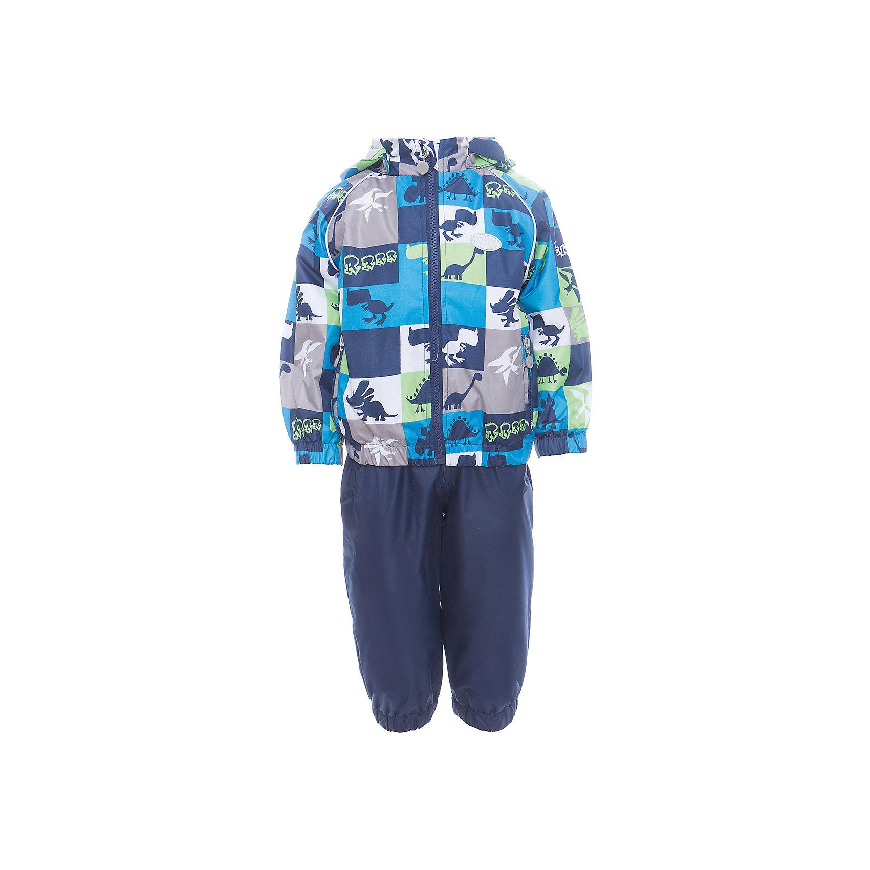 Комплект Reike для мальчикаВерхняя одежда<br>Характеристики товара:<br><br>• цвет: синий<br>• состав: 100% полиэстер<br>• подкладка: 100% хлопок, с комфортными велюровыми вставками на воротнике и манжетах<br>• без утеплителя<br>• температурный режим: от +5° С до +15° С<br>• из ветрозащитного, водонепроницаемого материала<br>• мембранная технология позволяет телу дышать<br>• воздухопроницаемость: 2000гр/м2/24 ч<br>• водоотталкивающее покрытие: 2000 мм<br>• ветрозащитная планка не допускает проникновения холодного воздуха<br>• эластичная талия полукомбинезона и регулируемые подтяжки гарантируют посадку по фигуре<br>• длинная молния впереди облегчает процесс одевания<br>• полукомбинезон оснащен боковым карманом на молнии и съемными штрипками<br>• съёмный капюшон<br>• два кармана на липучках<br>• эластичные манжеты на рукавах и внизу брючин<br>• светоотражающие детали<br>• страна бренда: Финляндия<br><br>Демисезонная одежда может быть очень красивой и удобной! Новая коллекция от известного финского производителя Reike отличается ярким дизайном, продуманностью и комфортом! Эта модель разработана специально для детей - она учитывает особенности их физиологии, а также новые тенденции в европейской моде. Стильная и удобная вещь!<br><br>Комплект от популярного бренда Reike можно купить в нашем интернет-магазине.<br><br>Ширина мм: 215<br>Глубина мм: 88<br>Высота мм: 191<br>Вес г: 336<br>Цвет: синий<br>Возраст от месяцев: 24<br>Возраст до месяцев: 36<br>Пол: Мужской<br>Возраст: Детский<br>Размер: 98,92,86,80<br>SKU: 5429964