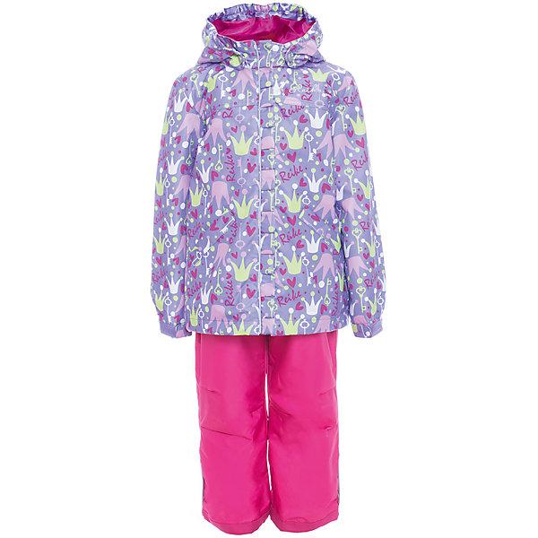 Комплект Reike для девочкиОдежда<br>Характеристики товара:<br><br>• цвет: сиреневый/розовый<br>• состав: 100% полиэстер<br>• подкладка: 100% полиэстер, с комфортными флисовыми вставками на воротнике и манжетах<br>• без утеплителя<br>• температурный режим: от +5° С до +15° С<br>• из ветрозащитного, водонепроницаемого материала<br>• мембранная технология позволяет телу дышать<br>• воздухопроницаемость: 2000гр/м2/24 ч<br>• водоотталкивающее покрытие: 2000 мм<br>• ветрозащитная планка в виде рюши не допускает проникновения холодного воздуха<br>• завышенная талия брюк и регулируемые подтяжки гарантируют посадку по фигуре<br>• низ усилен защитой от истирания<br>• полукомбинезон оснащен светоотражателями, двумя боковыми карманами на молнии<br>• съёмный регулируемый капюшон с полоской светоотражателя<br>• два кармана на кнопках<br>• эластичные манжеты рукавов утягиваются с помощью липучек<br>• светоотражающие детали<br>• страна бренда: Финляндия<br><br>Демисезонная одежда может быть очень красивой и удобной! Новая коллекция от известного финского производителя Reike отличается ярким дизайном, продуманностью и комфортом! Эта модель разработана специально для детей - она учитывает особенности их физиологии, а также новые тенденции в европейской моде. Стильная и удобная вещь!<br><br>Комплект от популярного бренда Reike можно купить в нашем интернет-магазине.<br><br>Ширина мм: 215<br>Глубина мм: 88<br>Высота мм: 191<br>Вес г: 336<br>Цвет: лиловый<br>Возраст от месяцев: 48<br>Возраст до месяцев: 60<br>Пол: Женский<br>Возраст: Детский<br>Размер: 110,116,104,128,122<br>SKU: 5429975
