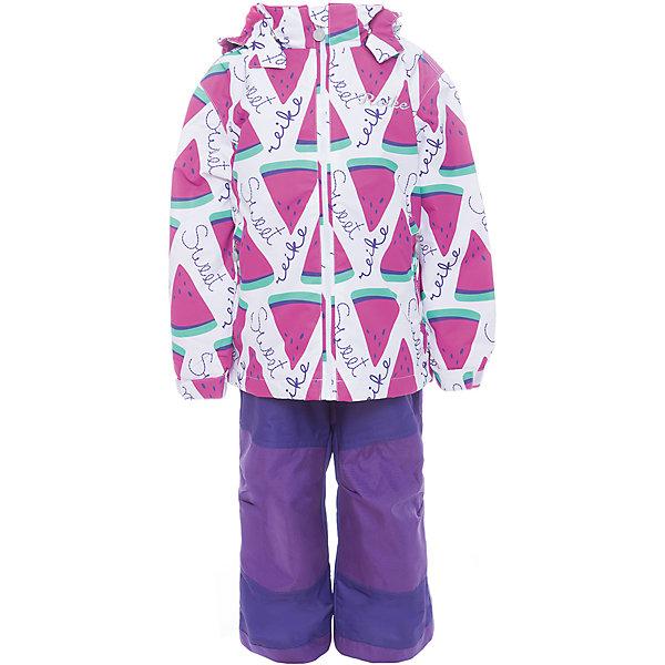 Комплект Reike для девочкиОдежда<br>Характеристики товара:<br><br>• цвет: белый/фиолетовый/розовый<br>• состав: 100% полиэстер<br>• подкладка - 100% полиэстер (микрофлис)<br>• без утеплителя<br>• температурный режим: от +5° С до +15° С<br>• из ветрозащитного, водонепроницаемого материала<br>• мембранная технология позволяет телу дышать<br>• воздухопроницаемость: 3000гр/м2/24 ч<br>• водоотталкивающее покрытие: 5000 мм<br>• износостойкость: 50 000 (тест Мартиндейла)<br>• внутренняя ветрозащитная планка со светоотражающей полоской вдоль молнии не допускает проникновения холодного воздуха<br>• все швы проклеены<br>• съёмный регулируемый капюшон с полоской светоотражателя<br>• куртка с двумя карманами на молнии<br>• утяжка по низу куртки<br>• завышенная талия брюк и регулируемые подтяжки гарантируют посадку по фигуре<br>• колени, задняя поверхность бедер и низ брюк дополнительно упрочнены сверхпрочным материалом<br>• полукомбинезон оснащен светоотражателями, двумя боковыми карманами на молнии и регулятором длины<br>• манжеты рукавов на резинке дополнительно регулируются липучками<br>• страна бренда: Финляндия<br><br>Демисезонная одежда может быть очень красивой и удобной! Новая коллекция от известного финского производителя Reike отличается ярким дизайном, продуманностью и комфортом! Эта модель разработана специально для детей - она учитывает особенности их физиологии, а также новые тенденции в европейской моде. Стильная и удобная вещь!<br><br>Комплект для девочки от популярного бренда Reike можно купить в нашем интернет-магазине.<br>Ширина мм: 215; Глубина мм: 88; Высота мм: 191; Вес г: 336; Цвет: белый; Возраст от месяцев: 36; Возраст до месяцев: 48; Пол: Женский; Возраст: Детский; Размер: 104,128,122,116,110; SKU: 5429981;