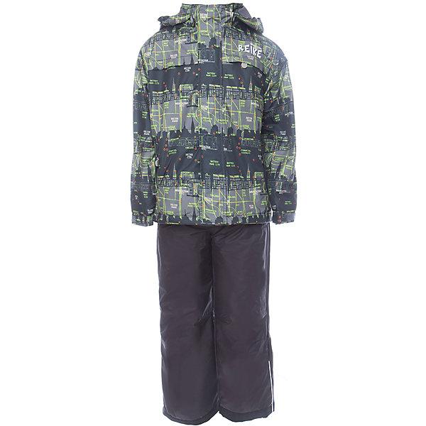 Комплект Reike для мальчикаОдежда<br>Характеристики товара:<br><br>• цвет: зелёный/чёрный<br>• состав: 100% полиэстер<br>• подкладка - 100% полиэстер со вставками из микрофлиса (спинка, грудь куртки)<br>• без утеплителя<br>• температурный режим: от +5° С до +15° С<br>• из ветрозащитного, водонепроницаемого материала<br>• мембранная технология позволяет телу дышать<br>• воздухопроницаемость: 2000гр/м2/24 ч<br>• водоотталкивающее покрытие: 2000 мм<br>• ветрозащитная планка на кнопках и липучках вдоль молнии не допустит проникновения холодного воздуха<br>• съёмный регулируемый капюшон<br>• куртка с двумя карманами на молнии<br>• завышенная талия и регулируемые подтяжки гарантируют посадку брюк по фигуре<br>• низ усилен защитой от истирания<br>• завышенные брюки оснащены светоотражателями, двумя боковыми карманами на молнии и съёмными штрипками<br>• манжеты рукавов на резинке дополнительно регулируются липучками<br>• страна бренда: Финляндия<br><br>Демисезонная одежда может быть очень красивой и удобной! Новая коллекция от известного финского производителя Reike отличается ярким дизайном, продуманностью и комфортом! Эта модель разработана специально для детей - она учитывает особенности их физиологии, а также новые тенденции в европейской моде. Стильная и удобная вещь!<br><br>Комплект для девочки от популярного бренда Reike можно купить в нашем интернет-магазине.<br>Ширина мм: 215; Глубина мм: 88; Высота мм: 191; Вес г: 336; Цвет: черный; Возраст от месяцев: 48; Возраст до месяцев: 60; Пол: Мужской; Возраст: Детский; Размер: 110,134,128,122,116; SKU: 5429993;