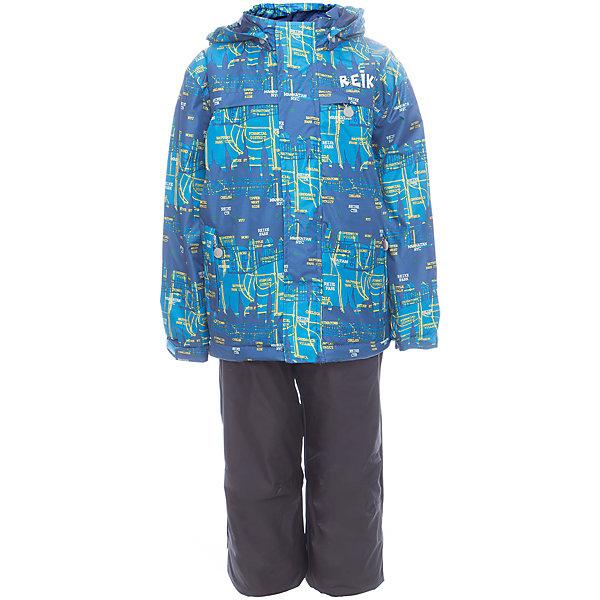 Комплект Reike для мальчикаОдежда<br>Характеристики товара:<br><br>• цвет: голубой/серый<br>• состав: 100% полиэстер<br>• подкладка - 100% полиэстер со вставками из микрофлиса (спинка, грудь куртки)<br>• без утеплителя<br>• температурный режим: от +5° С до +15° С<br>• из ветрозащитного, водонепроницаемого материала<br>• мембранная технология позволяет телу дышать<br>• воздухопроницаемость: 2000гр/м2/24 ч<br>• водоотталкивающее покрытие: 2000 мм<br>• ветрозащитная планка на кнопках и липучках вдоль молнии не допустит проникновения холодного воздуха<br>• съёмный регулируемый капюшон<br>• куртка с двумя карманами на молнии<br>• завышенная талия и регулируемые подтяжки гарантируют посадку брюк по фигуре<br>• низ усилен защитой от истирания<br>• завышенные брюки оснащены светоотражателями, двумя боковыми карманами на молнии и съёмными штрипками<br>• манжеты рукавов на резинке дополнительно регулируются липучками<br>• страна бренда: Финляндия<br><br>Демисезонная одежда может быть очень красивой и удобной! Новая коллекция от известного финского производителя Reike отличается ярким дизайном, продуманностью и комфортом! Эта модель разработана специально для детей - она учитывает особенности их физиологии, а также новые тенденции в европейской моде. Стильная и удобная вещь!<br><br>Комплект для девочки от популярного бренда Reike можно купить в нашем интернет-магазине.<br>Ширина мм: 215; Глубина мм: 88; Высота мм: 191; Вес г: 336; Цвет: синий; Возраст от месяцев: 48; Возраст до месяцев: 60; Пол: Мужской; Возраст: Детский; Размер: 110,134,128,122,116; SKU: 5429999;