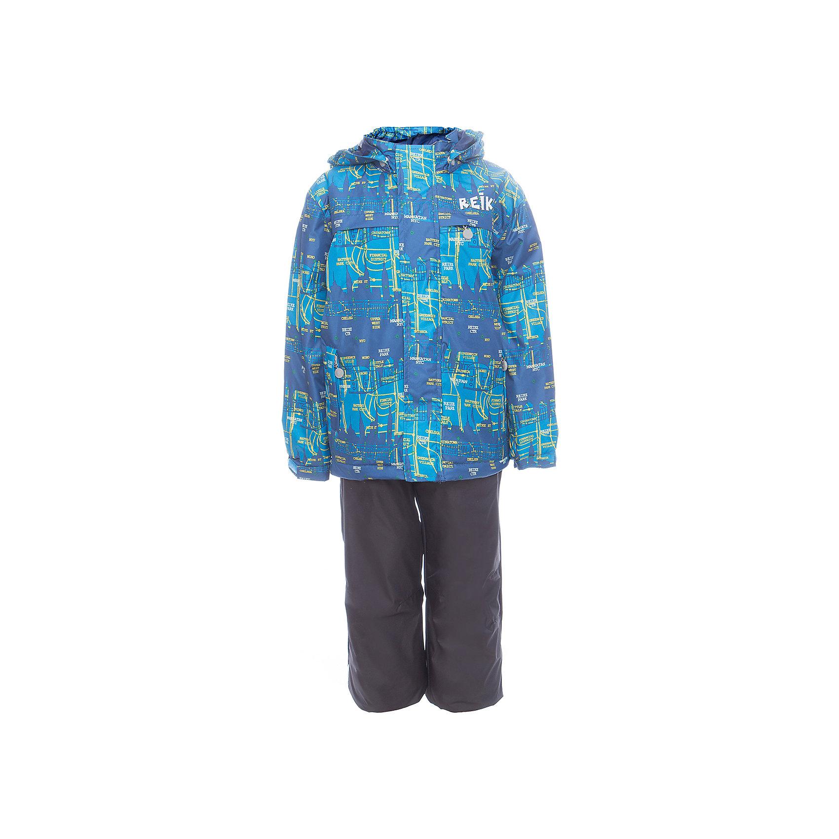 Комплект Reike для мальчикаОдежда<br>Характеристики товара:<br><br>• цвет: голубой/серый<br>• состав: 100% полиэстер<br>• подкладка - 100% полиэстер со вставками из микрофлиса (спинка, грудь куртки)<br>• без утеплителя<br>• температурный режим: от +5° С до +15° С<br>• из ветрозащитного, водонепроницаемого материала<br>• мембранная технология позволяет телу дышать<br>• воздухопроницаемость: 2000гр/м2/24 ч<br>• водоотталкивающее покрытие: 2000 мм<br>• ветрозащитная планка на кнопках и липучках вдоль молнии не допустит проникновения холодного воздуха<br>• съёмный регулируемый капюшон<br>• куртка с двумя карманами на молнии<br>• завышенная талия и регулируемые подтяжки гарантируют посадку брюк по фигуре<br>• низ усилен защитой от истирания<br>• завышенные брюки оснащены светоотражателями, двумя боковыми карманами на молнии и съёмными штрипками<br>• манжеты рукавов на резинке дополнительно регулируются липучками<br>• страна бренда: Финляндия<br><br>Демисезонная одежда может быть очень красивой и удобной! Новая коллекция от известного финского производителя Reike отличается ярким дизайном, продуманностью и комфортом! Эта модель разработана специально для детей - она учитывает особенности их физиологии, а также новые тенденции в европейской моде. Стильная и удобная вещь!<br><br>Комплект для девочки от популярного бренда Reike можно купить в нашем интернет-магазине.<br><br>Ширина мм: 215<br>Глубина мм: 88<br>Высота мм: 191<br>Вес г: 336<br>Цвет: синий<br>Возраст от месяцев: 96<br>Возраст до месяцев: 108<br>Пол: Мужской<br>Возраст: Детский<br>Размер: 134,110,116,122,128<br>SKU: 5429999