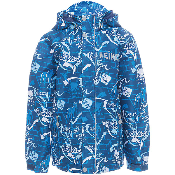 Куртка Reike для мальчикаОдежда<br>Характеристики товара:<br><br>• цвет: синий<br>• состав: 100% полиэстер<br>• подкладка: 100% полиэстер<br>• без утеплителя<br>• температурный режим: от +10° С до +20° С<br>• из ветрозащитного, водонепроницаемого материала<br>• позволяет телу дышать<br>• воздухопроницаемость: 2000гр/м2/24 ч<br>• водоотталкивающее покрытие: 2000 мм<br>• застежка: молния<br>• планка от ветра на кнопках<br>• съёмный капюшон на кнопках<br>• два кармана на молнии<br>• светоотражающий элемент<br>• манжеты на резинке дополнительно регулируются с помощью липучек<br>• страна бренда: Финляндия<br><br>Демисезонная одежда может быть очень красивой и удобной! Новая коллекция от известного финского производителя Reike отличается ярким дизайном, продуманностью и комфортом! Эта модель разработана специально для детей - она учитывает особенности их физиологии, а также новые тенденции в европейской моде. Стильная и удобная вещь!<br><br>Куртку для мальчика от популярного бренда Reike можно купить в нашем интернет-магазине.<br><br>Ширина мм: 356<br>Глубина мм: 10<br>Высота мм: 245<br>Вес г: 519<br>Цвет: синий<br>Возраст от месяцев: 84<br>Возраст до месяцев: 96<br>Пол: Мужской<br>Возраст: Детский<br>Размер: 128,152,134,140,146<br>SKU: 5430015