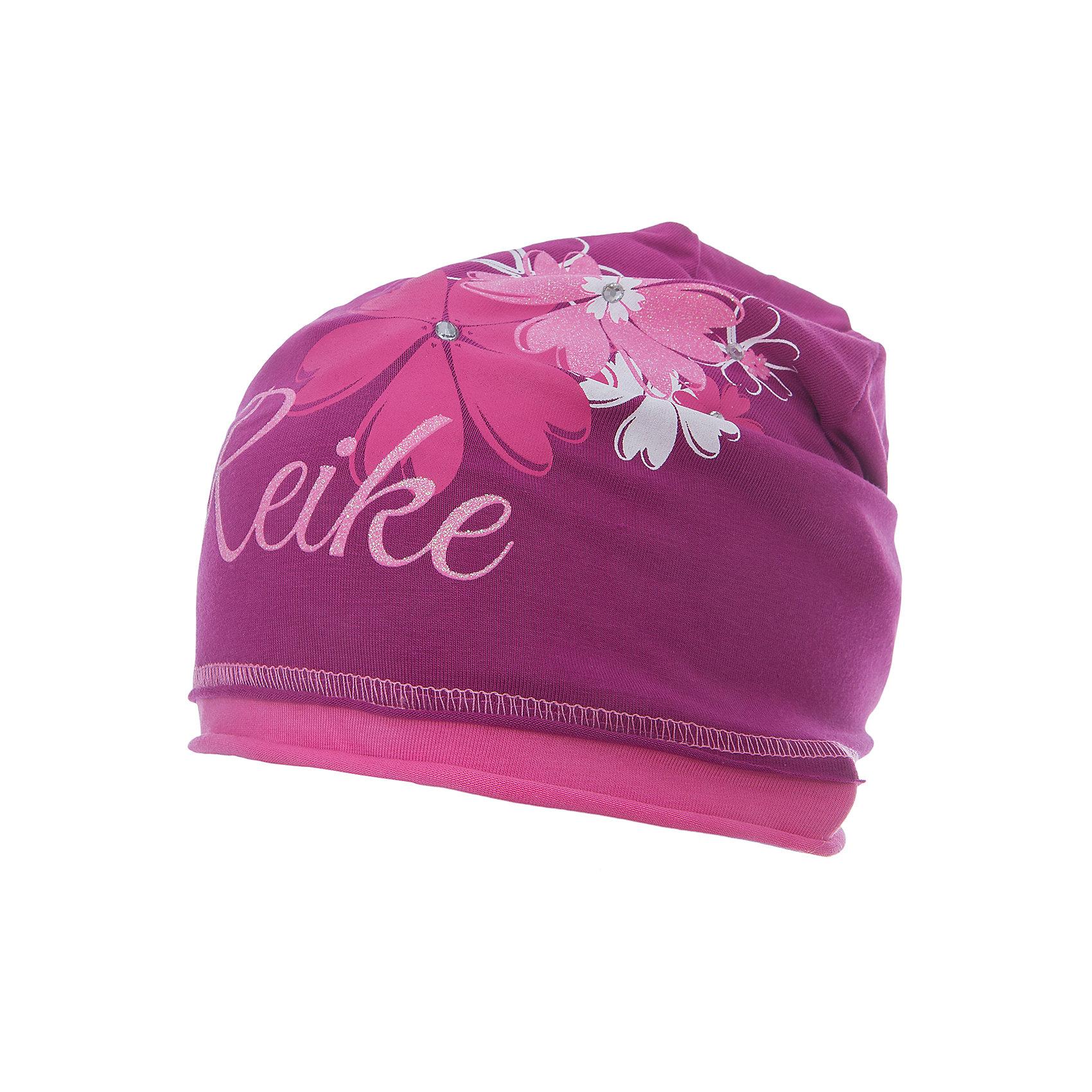Шапка Reike для девочкиШапки и шарфы<br>Характеристики товара:<br><br>• цвет: бордовый<br>• состав: 97% хлопок, 3% полиуретан<br>• декорирована принтом и стразами<br>• мягкий материал<br>• страна бренда: Финляндия<br><br>Новая коллекция от известного финского производителя Reike отличается ярким дизайном, продуманностью и комфортом! Эта модель разработана специально для детей - она учитывает особенности их физиологии, а также новые тенденции в европейской моде. Она отлично сочетается с обувью разных цветов и фасонов. Стильная и удобная вещь!<br><br>Шапку для девочки от популярного бренда Reike можно купить в нашем интернет-магазине.<br><br>Ширина мм: 89<br>Глубина мм: 117<br>Высота мм: 44<br>Вес г: 155<br>Цвет: бордовый<br>Возраст от месяцев: 0<br>Возраст до месяцев: 3<br>Пол: Женский<br>Возраст: Детский<br>Размер: 56,52,54<br>SKU: 5430124