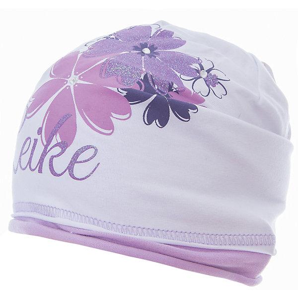 Шапка Reike для девочкиШапки и шарфы<br>Характеристики товара:<br><br>• цвет: белый<br>• состав: 97% хлопок, 3% полиуретан<br>• декорирована принтом и стразами<br>• мягкий материал<br>• страна бренда: Финляндия<br><br>Новая коллекция от известного финского производителя Reike отличается ярким дизайном, продуманностью и комфортом! Эта модель разработана специально для детей - она учитывает особенности их физиологии, а также новые тенденции в европейской моде. Она отлично сочетается с обувью разных цветов и фасонов. Стильная и удобная вещь!<br><br>Шапку для девочки от популярного бренда Reike можно купить в нашем интернет-магазине.<br><br>Ширина мм: 89<br>Глубина мм: 117<br>Высота мм: 44<br>Вес г: 155<br>Цвет: белый<br>Возраст от месяцев: 0<br>Возраст до месяцев: 3<br>Пол: Женский<br>Возраст: Детский<br>Размер: 56,52,54<br>SKU: 5430128