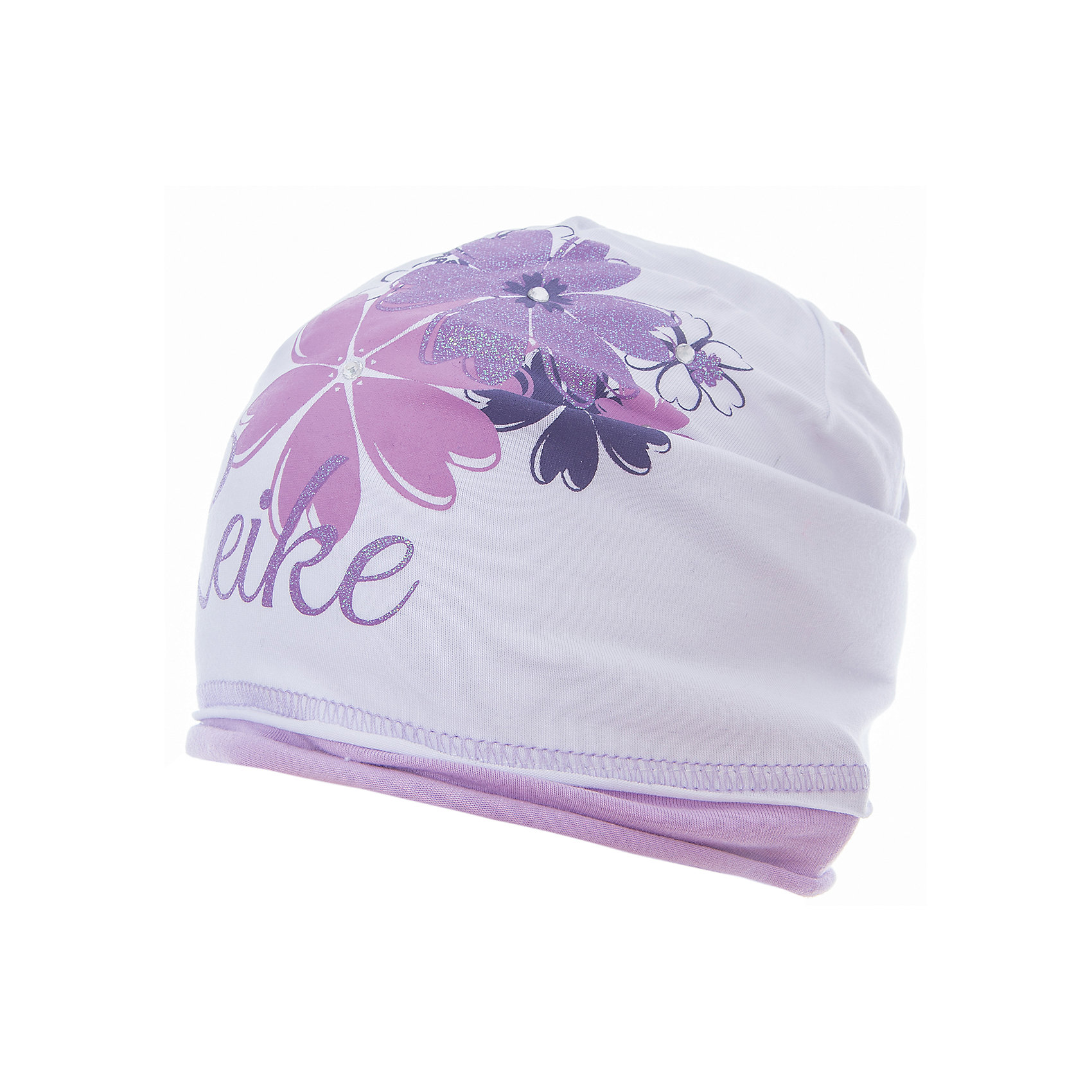 Шапка Reike для девочкиШапки и шарфы<br>Характеристики товара:<br><br>• цвет: белый<br>• состав: 97% хлопок, 3% полиуретан<br>• декорирована принтом и стразами<br>• мягкий материал<br>• страна бренда: Финляндия<br><br>Новая коллекция от известного финского производителя Reike отличается ярким дизайном, продуманностью и комфортом! Эта модель разработана специально для детей - она учитывает особенности их физиологии, а также новые тенденции в европейской моде. Она отлично сочетается с обувью разных цветов и фасонов. Стильная и удобная вещь!<br><br>Шапку для девочки от популярного бренда Reike можно купить в нашем интернет-магазине.<br><br>Ширина мм: 89<br>Глубина мм: 117<br>Высота мм: 44<br>Вес г: 155<br>Цвет: белый<br>Возраст от месяцев: 72<br>Возраст до месяцев: 84<br>Пол: Женский<br>Возраст: Детский<br>Размер: 54,56,52<br>SKU: 5430128