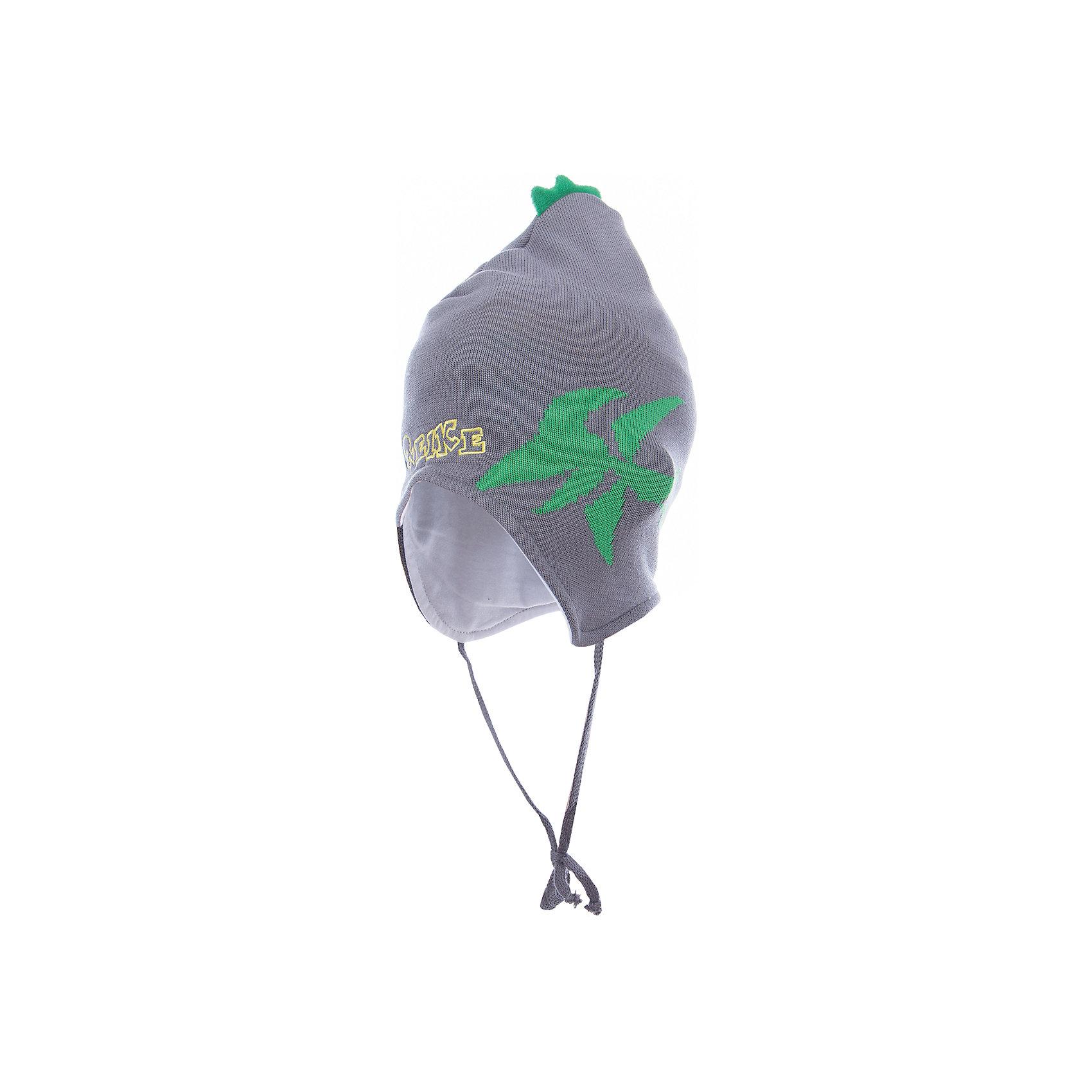 Шапка Reike для мальчикаШапочки<br>Характеристики товара:<br><br>• цвет: серый<br>• состав: 100% хлопок<br>• подкладка: 100% хлопок<br>• температурный режим: от +5° С до +15° С<br>• завязки во всех размерах<br>• декорирована вышивкой и вязаным узором<br>• декоративный ирокез наверху<br>• мягкий материал<br>• страна бренда: Финляндия<br><br>Демисезонная одежда может быть очень красивой и удобной! Новая коллекция от известного финского производителя Reike отличается ярким дизайном, продуманностью и комфортом! Эта модель разработана специально для детей - она учитывает особенности их физиологии, а также новые тенденции в европейской моде. Она отлично сочетается с обувью разных цветов и фасонов. Стильная и удобная вещь!<br><br>Шапку для мальчика от популярного бренда Reike можно купить в нашем интернет-магазине.<br><br>Ширина мм: 89<br>Глубина мм: 117<br>Высота мм: 44<br>Вес г: 155<br>Цвет: серый<br>Возраст от месяцев: 6<br>Возраст до месяцев: 9<br>Пол: Мужской<br>Возраст: Детский<br>Размер: 46,50,48<br>SKU: 5430140