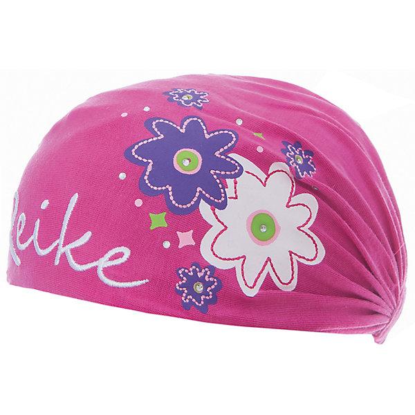 Повязка Reike для девочкиШапки и шарфы<br>Характеристики товара:<br><br>• цвет: фуксия<br>• состав: 100% хлопок<br>• декорирована принтом и стразами<br>• мягкий материал<br>• страна бренда: Финляндия<br><br>Новая коллекция от известного финского производителя Reike отличается ярким дизайном, продуманностью и комфортом! Эта модель разработана специально для детей - она учитывает особенности их физиологии, а также новые тенденции в европейской моде. Она отлично сочетается с обувью разных цветов и фасонов. Стильная и удобная вещь!<br><br>Повязку для девочки от популярного бренда Reike можно купить в нашем интернет-магазине.<br><br>Ширина мм: 89<br>Глубина мм: 117<br>Высота мм: 44<br>Вес г: 155<br>Цвет: фуксия<br>Возраст от месяцев: 12<br>Возраст до месяцев: 18<br>Пол: Женский<br>Возраст: Детский<br>Размер: 48,52,50<br>SKU: 5430188