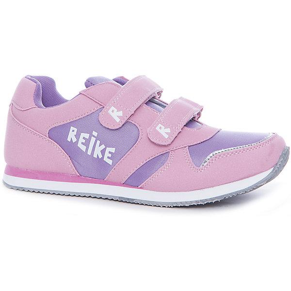 Полуботинки для девочки ReikeОбувь<br>Характеристики товара:<br><br>• цвет: розовый/фиолетовый<br>• внешний материал: искусственная кожа, текстиль<br>• внутренний материал: текстиль<br>• стелька: текстиль<br>• подошва: ЭВА<br>• облегчённая модель<br>• усиленный защищённый мыс и пятка<br>• застежка: два ремешка с липучкой<br>• устойчивая подошва<br>• страна бренда: Финляндия<br><br>Новая коллекция от известного финского производителя Reike отличается ярким дизайном, продуманностью и комфортом! Эта модель разработана специально для детей - она учитывает особенности их физиологии, а также новые тенденции в европейской моде. Стильная и удобная вещь!<br><br>Полуботинки для девочки от популярного бренда Reike можно купить в нашем интернет-магазине.<br><br>Ширина мм: 262<br>Глубина мм: 176<br>Высота мм: 97<br>Вес г: 427<br>Цвет: лиловый<br>Возраст от месяцев: 144<br>Возраст до месяцев: 156<br>Пол: Женский<br>Возраст: Детский<br>Размер: 36,31,32,33,34,35<br>SKU: 5430482