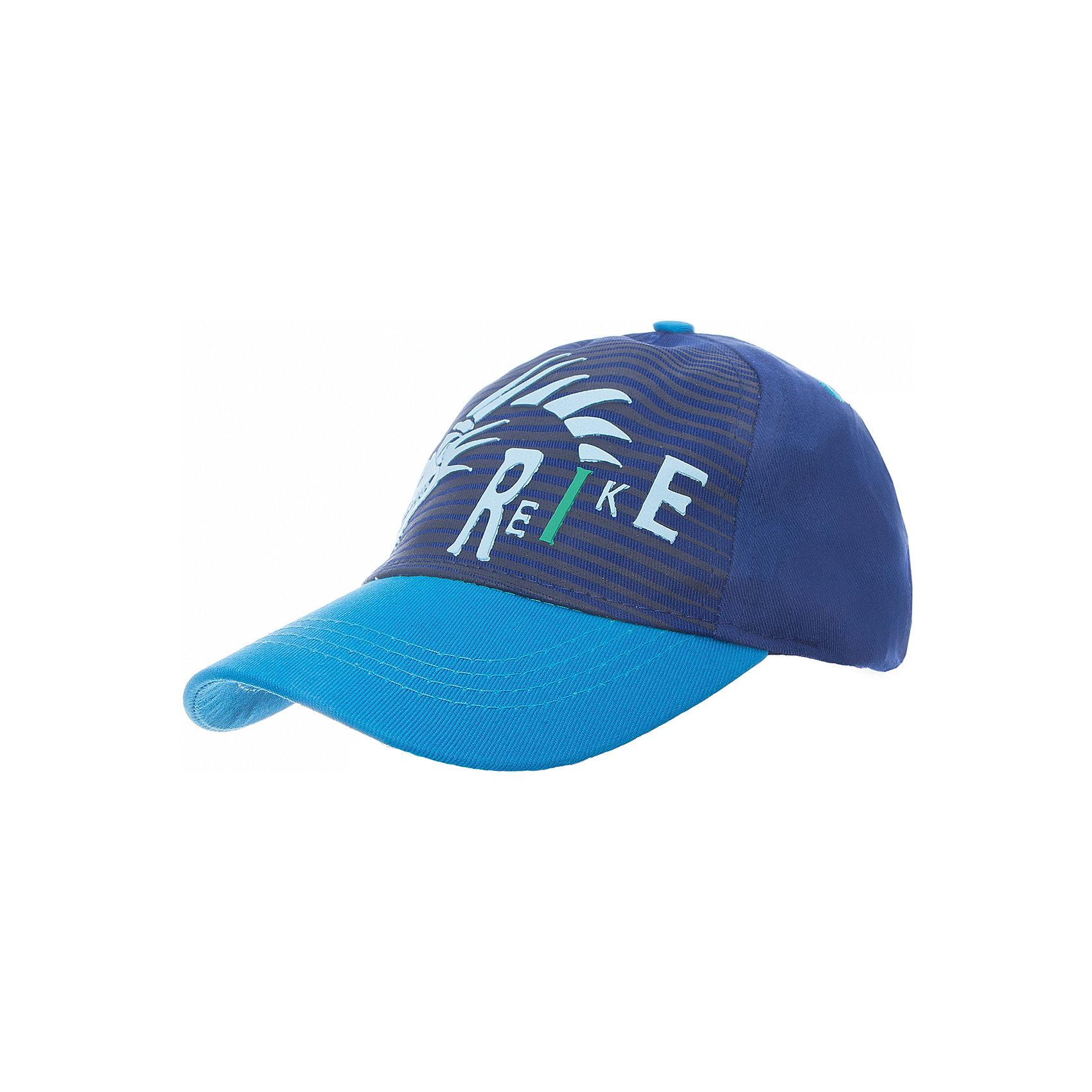 Кепка Reike для мальчикаШапки и шарфы<br>Характеристики товара:<br><br>• цвет: синий<br>• состав: 100% хлопок<br>• декорирована принтом <br>• мягкий материал<br>• страна бренда: Финляндия<br><br>Новая коллекция от известного финского производителя Reike отличается ярким дизайном, продуманностью и комфортом! Эта модель разработана специально для детей - она учитывает особенности их физиологии, а также новые тенденции в европейской моде. Стильная и удобная вещь!<br><br>Кепку для мальчика от популярного бренда Reike можно купить в нашем интернет-магазине.<br><br>Ширина мм: 89<br>Глубина мм: 117<br>Высота мм: 44<br>Вес г: 155<br>Цвет: синий<br>Возраст от месяцев: 24<br>Возраст до месяцев: 36<br>Пол: Мужской<br>Возраст: Детский<br>Размер: 50,54,52<br>SKU: 5430532