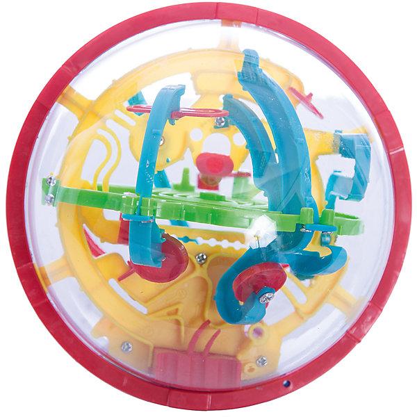 Игрушка-головоломка Шар-лабиринт, 100 шагов, диаметр 13 см, Icoy ToysГоловоломки - лабиринты<br>Игрушка-головоломка Шар-лабиринт, 100 шагов, диаметр 13 см, Icoy Toys<br><br>Характеристики:<br><br>• Диаметр игрушки: 13 см<br>• Количество шагов: 100<br>• Возраст: от 6 лет<br>• Размер упаковки: 120х120х120мм<br>• Вес: 140г<br><br>В первую очередь эта игрушка эффективно развивает мелкую моторику и пространственное мышление ребенка. Она довольно сложна и чтобы справиться с ней – требуется масса терпения и усидчивости. <br><br>Эта головоломка-лабиринт представляет собой объемную прозрачную сферу, которую необходимо вращать, чтобы находящийся внутри металлический шарик правильно преодолевал препятствия и смог достичь конца лабиринта. Всего в процессе прохождения лабиринта предполагается сделать 100 шагов. Рекомендуется для игр детей от шести лет.<br><br>Игрушка-головоломка Шар-лабиринт, 100 шагов, диаметр 13 см, Icoy Toys можно купить в нашем интернет-магазине.<br><br>Ширина мм: 120<br>Глубина мм: 120<br>Высота мм: 120<br>Вес г: 140<br>Возраст от месяцев: 36<br>Возраст до месяцев: 2147483647<br>Пол: Унисекс<br>Возраст: Детский<br>SKU: 5430809