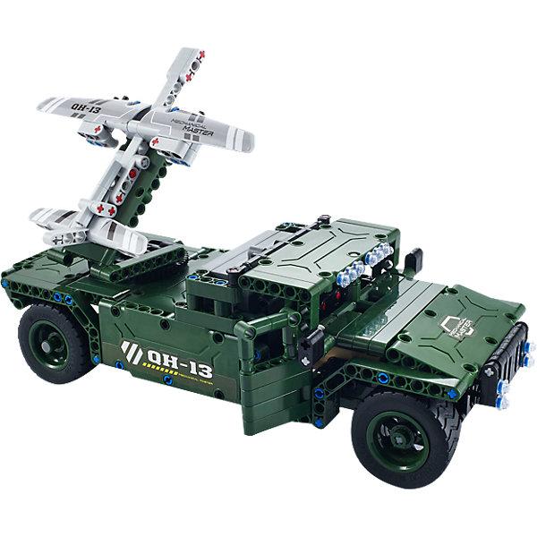 Конструктор электромеханический UAV Carrier, 506 деталей, QiHuiПластмассовые конструкторы<br>Конструктор электромеханический UAV Carrier, 506 деталей, QiHui<br><br>Характеристики:<br><br>• Возраст: от 7 лет<br>• Количество деталей: 506<br>• В комплекте: инструкция, детали для сборки, пульт управления и антенна, аккумулятор, зарядное устройство<br>• Дальность действия: 20 метров<br>• Максимальная скорость: 11 км/ч<br><br>Этот конструктор рекомендуется для игр детей от 7 лет. В процессе работы с ним ребенок может не только увлечься и провести долгое время за изучением набора, но и развивать свое пространственное мышление, мелкую моторику и, конечно, воображение. Этот набор позволяет ребенку собрать себе настоящий радиоуправляемый танк! <br><br>В комплект входит конструктор для сборки танка, пульт радиоуправления и аккумулятор. Дальность действия пульта составляет 20 метров. Готовый танк может ездить вперед-назад и поворачивать влево-вправо. Его максимальная скорость – 11 км/ч. <br><br>Конструктор электромеханический UAV Carrier, 506 деталей, QiHui можно купить в нашем интернет-магазине.<br><br>Ширина мм: 370<br>Глубина мм: 520<br>Высота мм: 65<br>Вес г: 1080<br>Возраст от месяцев: 72<br>Возраст до месяцев: 2147483647<br>Пол: Мужской<br>Возраст: Детский<br>SKU: 5430823