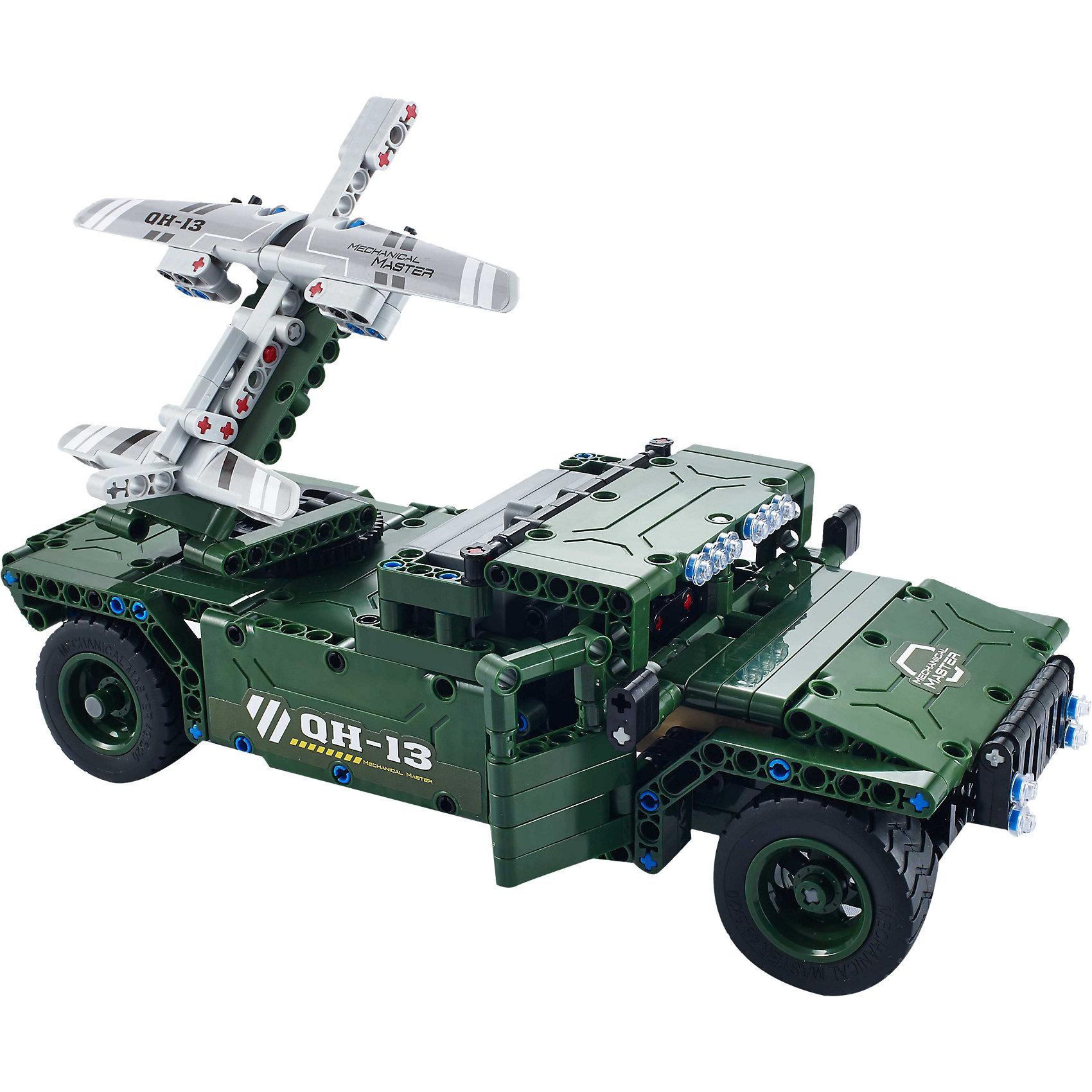 Конструктор электромеханический UAV Carrier, 506 деталей, QiHuiКонструктор электромеханический UAV Carrier, 506 деталей, QiHui<br><br>Характеристики:<br><br>• Возраст: от 7 лет<br>• Количество деталей: 506<br>• В комплекте: инструкция, детали для сборки, пульт управления и антенна, аккумулятор, зарядное устройство<br>• Дальность действия: 20 метров<br>• Максимальная скорость: 11 км/ч<br><br>Этот конструктор рекомендуется для игр детей от 7 лет. В процессе работы с ним ребенок может не только увлечься и провести долгое время за изучением набора, но и развивать свое пространственное мышление, мелкую моторику и, конечно, воображение. Этот набор позволяет ребенку собрать себе настоящий радиоуправляемый танк! <br><br>В комплект входит конструктор для сборки танка, пульт радиоуправления и аккумулятор. Дальность действия пульта составляет 20 метров. Готовый танк может ездить вперед-назад и поворачивать влево-вправо. Его максимальная скорость – 11 км/ч. <br><br>Конструктор электромеханический UAV Carrier, 506 деталей, QiHui можно купить в нашем интернет-магазине.<br><br>Ширина мм: 370<br>Глубина мм: 520<br>Высота мм: 65<br>Вес г: 1080<br>Возраст от месяцев: 72<br>Возраст до месяцев: 2147483647<br>Пол: Мужской<br>Возраст: Детский<br>SKU: 5430823