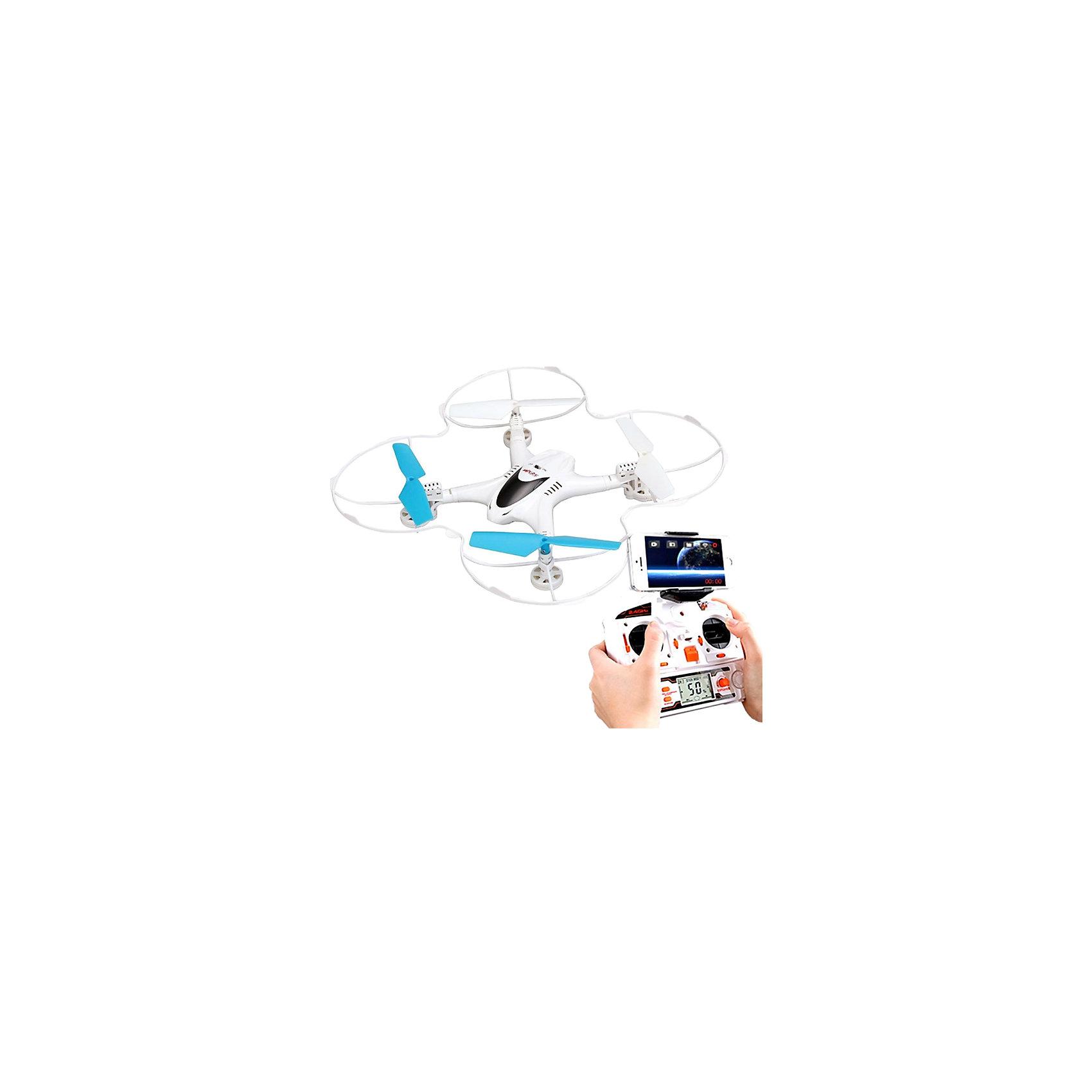 Квадрокоптер X300C с камерой HD, Blue SeaРадиоуправляемый транспорт<br>Квадрокоптер X300C с камерой HD, BlueSea<br><br>Характеристики:<br><br>• В комплекте: квадрокоптер, защитный бампер, пульт управления, аккумулятор и зарядное устройство, запасные лопасти, инструкция и кабель<br>• Скорость: 40км/ч+ <br>• Управление: Автопилот <br>• Режимы полета: 2<br>• Диапазон управления: 150 метров<br>• Время полета: 10 минут<br>• Продолжительность перезарядки: 120 минут с использованием USB порта<br>• Оснащен встроенной камерой HD качества<br>• Размер: 24х24 сантиметра <br>• Вес: 102 грамма<br>• Дополнительно: Гироскоп 6-осевой, LED-подсветка, 3D пилотаж, подсветка<br><br>Эта модель квадрокоптера хорошо подходит для начинающих пилотов благодаря своей функции Fail-Safe – если в процессе полета вы запустите квадрокоптер слишком далеко или не будете знать, как вернуть его обратно, она позволит вам сохранить его в целости. Используя этот квадрокоптер вы сможете наблюдать за его полетом в режиме реального времени, благодаря встроенной FPV-камере, потребуется только устройство, работающее на платформе IOS или Android. <br><br>Так же модель поставляется в комплекте с аппаратурой управления на 2,4 Гц. Возможности этого квардрокоптера позволяют снимать видео в HD-качестве, а так же легко и удобно им управлять, благодаря встроенному 6-осевому гироскопу. Благодаря мощной светодиодной подсветке его удобно использовать даже ночью.<br><br>Квадрокоптер X300C с камерой HD, Blue Sea можно купить в нашем интернет-магазине.<br><br>Ширина мм: 410<br>Глубина мм: 290<br>Высота мм: 80<br>Вес г: 810<br>Возраст от месяцев: 96<br>Возраст до месяцев: 2147483647<br>Пол: Унисекс<br>Возраст: Детский<br>SKU: 5430825