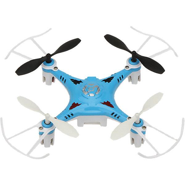 Квадрокоптер X7, синий, Blue SeaКвадрокоптеры<br>Квадрокоптер X7, синий, BlueSea<br><br>Характеристики:<br><br>• Частота от: 2.4 Гц<br>• Радиус действия пульта управления: 50 м<br>• Тип аккумулятора: Li-poly<br>• Емкость аккумулятора: 350 мАч<br>• Время полета: 5-8 минут<br>• В набор входит: квадрокоптер Х7, пульт управления, USB-шнур, запасные детали, инструкция<br>• Цвет: синий<br><br>Этот квадрокоптер подходит для использования начинающими пилотами, благодаря своей невысокой цене и отличным полетным характеристикам. Он имеет инфракрасное четырехканальное управление и компактные размеры. В дополнение данная модель оснащена дополнительной защитой, которая сохраняет его устойчивость при ударах и падениях, поэтому его удобно использовать не только на улице, но и в помещении. <br><br>Благодаря оснащению 6-осевым гироскопом он способен переворачиваться в воздухе на 360 градусов. Это простая в использовании, но очень эффективная модель, которая позволит приобщиться к миру квадрокоптеров даже самому неопытному пилоту. Производить зарядку этого устройства можно через удобный USB-шнур. В комплекте есть все необходимое для того, чтобы быстро освоить предложенный функционал и начать его использовать.<br><br>Квадрокоптер X7, синий, BlueSea можно купить в нашем интернет-магазине.<br><br>Ширина мм: 170<br>Глубина мм: 187<br>Высота мм: 95<br>Вес г: 306<br>Возраст от месяцев: 96<br>Возраст до месяцев: 2147483647<br>Пол: Унисекс<br>Возраст: Детский<br>SKU: 5430827