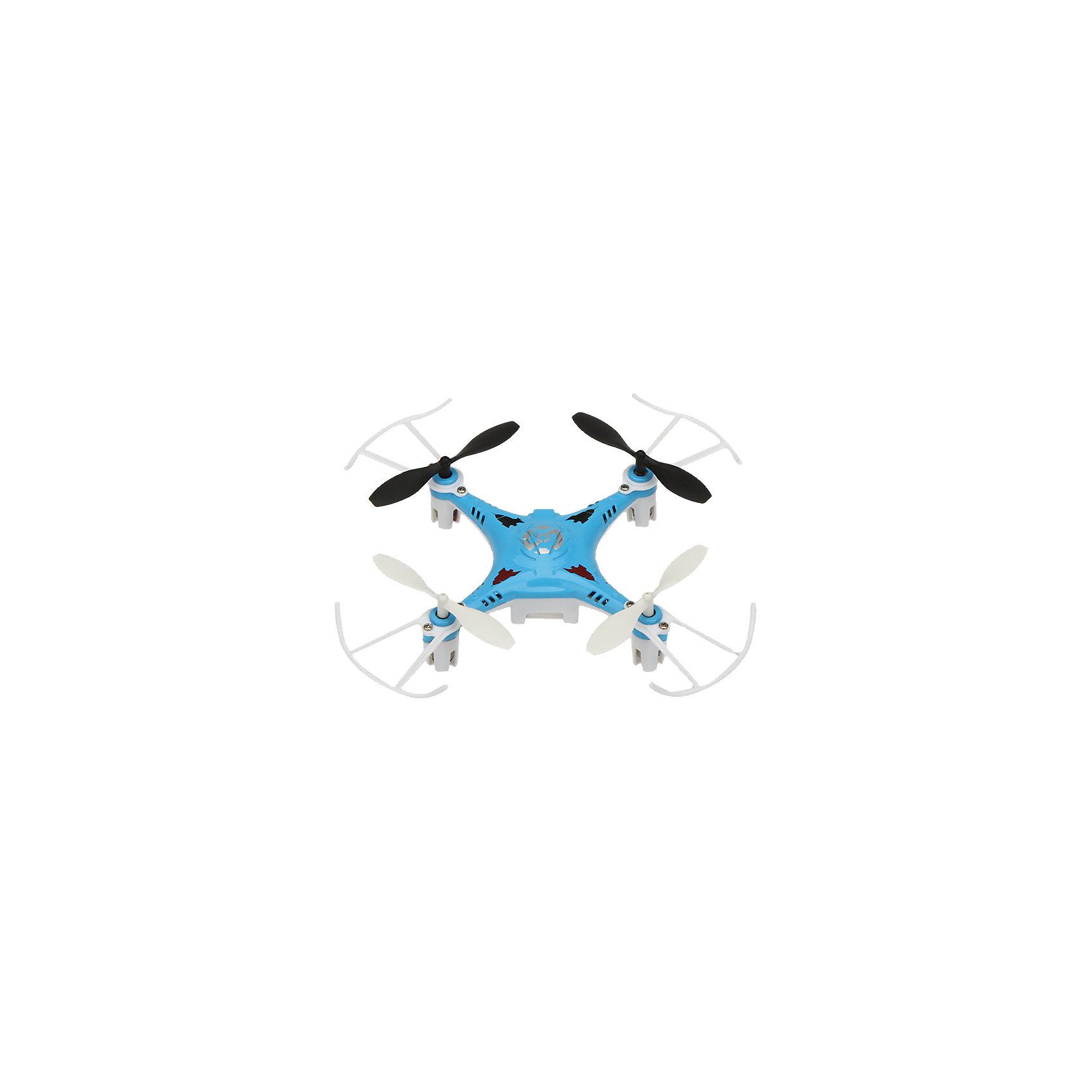Квадрокоптер X7, синий, Blue SeaРадиоуправляемый транспорт<br>Квадрокоптер X7, синий, BlueSea<br><br>Характеристики:<br><br>• Частота от: 2.4 Гц<br>• Радиус действия пульта управления: 50 м<br>• Тип аккумулятора: Li-poly<br>• Емкость аккумулятора: 350 мАч<br>• Время полета: 5-8 минут<br>• В набор входит: квадрокоптер Х7, пульт управления, USB-шнур, запасные детали, инструкция<br>• Цвет: синий<br><br>Этот квадрокоптер подходит для использования начинающими пилотами, благодаря своей невысокой цене и отличным полетным характеристикам. Он имеет инфракрасное четырехканальное управление и компактные размеры. В дополнение данная модель оснащена дополнительной защитой, которая сохраняет его устойчивость при ударах и падениях, поэтому его удобно использовать не только на улице, но и в помещении. <br><br>Благодаря оснащению 6-осевым гироскопом он способен переворачиваться в воздухе на 360 градусов. Это простая в использовании, но очень эффективная модель, которая позволит приобщиться к миру квадрокоптеров даже самому неопытному пилоту. Производить зарядку этого устройства можно через удобный USB-шнур. В комплекте есть все необходимое для того, чтобы быстро освоить предложенный функционал и начать его использовать.<br><br>Квадрокоптер X7, синий, BlueSea можно купить в нашем интернет-магазине.<br><br>Ширина мм: 170<br>Глубина мм: 187<br>Высота мм: 95<br>Вес г: 306<br>Возраст от месяцев: 96<br>Возраст до месяцев: 2147483647<br>Пол: Унисекс<br>Возраст: Детский<br>SKU: 5430827