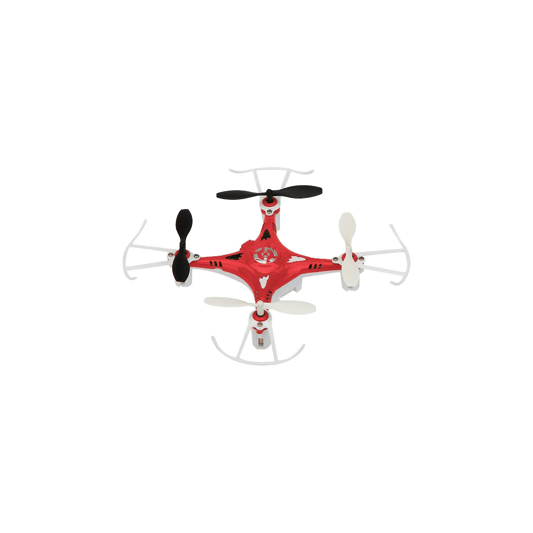 Квадрокоптер X7, красный, Blue SeaРадиоуправляемый транспорт<br>Квадрокоптер X7, красный, Blue Sea<br><br>Характеристики:<br><br>• Частота от: 2.4 Гц<br>• Радиус действия пульта управления: 50 м<br>• Тип аккумулятора: Li-poly<br>• Емкость аккумулятора: 350 мАч<br>• Время полета: 5-8 минут<br>• В набор входит: квадрокоптер Х7, пульт управления, USB-шнур, запасные детали, инструкция<br>• Цвет: красный<br><br>Этот квадрокоптер подходит для использования начинающими пилотами, благодаря своей невысокой цене и отличным полетным характеристикам. Он имеет инфракрасное четырехканальное управление и компактные размеры. В дополнение данная модель оснащена дополнительной защитой, которая сохраняет его устойчивость при ударах и падениях, поэтому его удобно использовать не только на улице, но и в помещении. <br><br>Благодаря оснащению 6-осевым гироскопом он способен переворачиваться в воздухе на 360 градусов. Это простая в использовании, но очень эффективная модель, которая позволит приобщиться к миру квадрокоптеров даже самому неопытному пилоту. Производить зарядку этого устройства можно через удобный USB-шнур. В комплекте есть все необходимое для того, чтобы быстро освоить предложенный функционал и начать его использовать.<br><br>Квадрокоптер X7, красный, Blue Sea можно купить в нашем интернет-магазине.<br><br>Ширина мм: 170<br>Глубина мм: 187<br>Высота мм: 95<br>Вес г: 306<br>Возраст от месяцев: 96<br>Возраст до месяцев: 2147483647<br>Пол: Унисекс<br>Возраст: Детский<br>SKU: 5430828