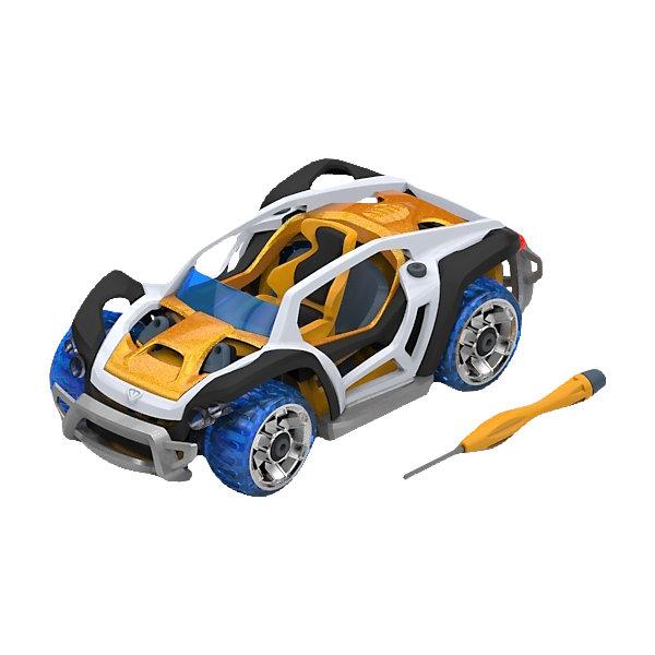 Набор для сборки машинки X1 Dirt Car Single, ModarriМашинки<br>Набор для сборки машинки X1 Dirt Car Single, Modarri<br><br>Характеристики: <br><br>• Возраст: от 7 лет<br>• Материал: металл, пластмасса<br>• Комплектация набора: детали для сборки машины, отвертка, инструкция<br><br>Этот современный набор подойдет для использования детьми от семи лет. В комплект входят запчасти для создания гоночных машинок, которые смоделированы по образцу настоящих итальянских суперкаров и внедорожника с яркой подсветкой и высокой маневренностью. Все запчасти автомобилей взаимозаменяемы между собой, а так же имеют повышенную прочность. <br><br>Каждая модель имеет высокую детализацию и, без сомнения, впечатлит юного конструктора. В наборе содержатся не только детали от машинок, но и отвертка с инструкцией, чтобы ваш ребенок мог как можно скорее получить впечатляющий и радующий его результат.<br><br>Набор для сборки машинки X1 Dirt Car Single, Modarri можно купить в нашем интернет-магазине.<br><br>Ширина мм: 215<br>Глубина мм: 200<br>Высота мм: 83<br>Вес г: 260<br>Возраст от месяцев: 96<br>Возраст до месяцев: 2147483647<br>Пол: Унисекс<br>Возраст: Детский<br>SKU: 5430836