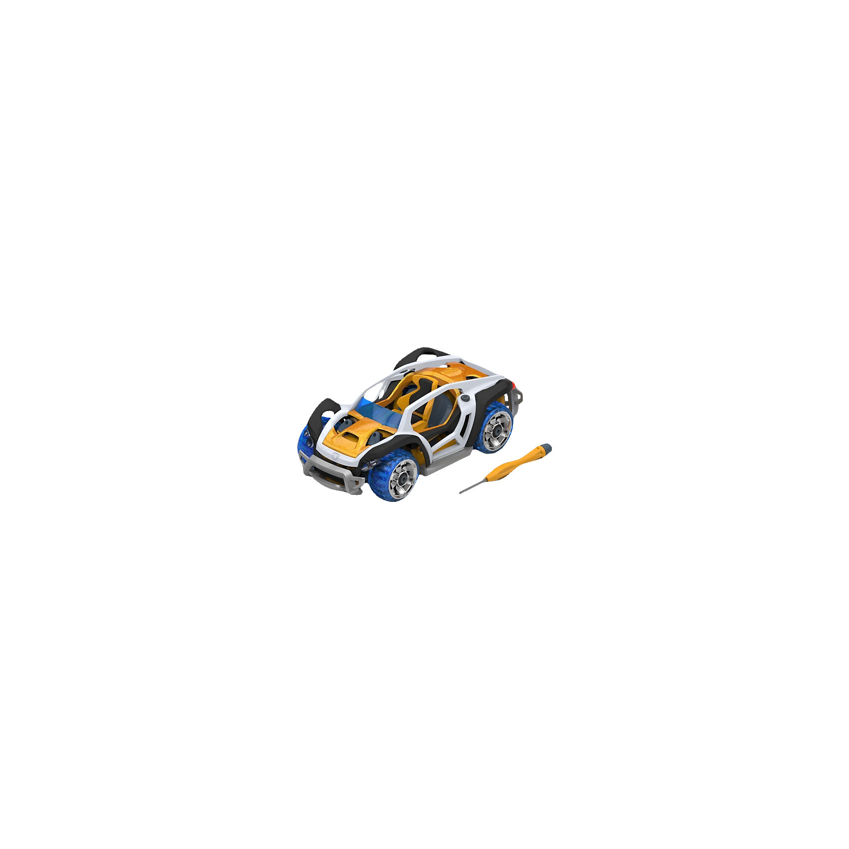 Набор для сборки машинки X1 Dirt Car Single, ModarriСборные модели транспорта<br>Набор для сборки машинки X1 Dirt Car Single, Modarri<br><br>Характеристики: <br><br>• Возраст: от 7 лет<br>• Материал: металл, пластмасса<br>• Комплектация набора: детали для сборки машины, отвертка, инструкция<br><br>Этот современный набор подойдет для использования детьми от семи лет. В комплект входят запчасти для создания гоночных машинок, которые смоделированы по образцу настоящих итальянских суперкаров и внедорожника с яркой подсветкой и высокой маневренностью. Все запчасти автомобилей взаимозаменяемы между собой, а так же имеют повышенную прочность. <br><br>Каждая модель имеет высокую детализацию и, без сомнения, впечатлит юного конструктора. В наборе содержатся не только детали от машинок, но и отвертка с инструкцией, чтобы ваш ребенок мог как можно скорее получить впечатляющий и радующий его результат.<br><br>Набор для сборки машинки X1 Dirt Car Single, Modarri можно купить в нашем интернет-магазине.<br><br>Ширина мм: 215<br>Глубина мм: 200<br>Высота мм: 83<br>Вес г: 260<br>Возраст от месяцев: 96<br>Возраст до месяцев: 2147483647<br>Пол: Унисекс<br>Возраст: Детский<br>SKU: 5430836