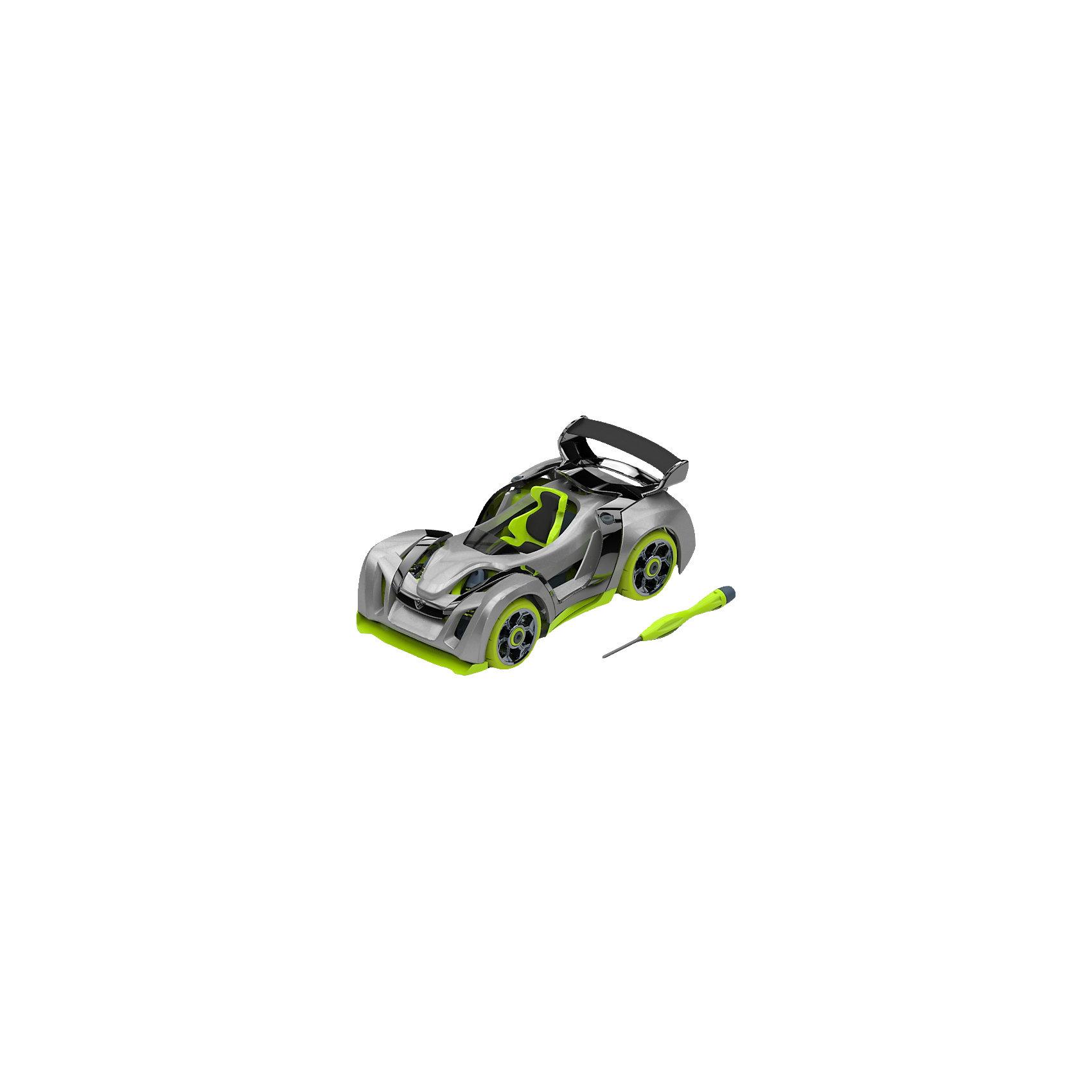 Набор для сборки машинки T1 Track Car Single, ModarriСборные модели транспорта<br>Набор для сборки машинки T1 Track Car Single, Modarri<br><br>Характеристики: <br><br>• Возраст: от 7 лет<br>• Материал: металл, пластмасса<br>• Комплектация набора: детали для сборки машины, отвертка, инструкция<br><br>Этот современный набор подойдет для использования детьми от семи лет. В комплект входят запчасти для создания гоночных машинок, которые смоделированы по образцу настоящих итальянских суперкаров и внедорожника с яркой подсветкой и высокой маневренностью. Все запчасти автомобилей взаимозаменяемы между собой, а так же имеют повышенную прочность. <br><br>Каждая модель имеет высокую детализацию и, без сомнения, впечатлит юного конструктора. В наборе содержатся не только детали от машинок, но и отвертка с инструкцией, чтобы ваш ребенок мог как можно скорее получить впечатляющий и радующий его результат.<br><br>Набор для сборки машинки T1 Track Car Single, Modarri можно купить в нашем интернет-магазине.<br><br>Ширина мм: 215<br>Глубина мм: 200<br>Высота мм: 83<br>Вес г: 260<br>Возраст от месяцев: 96<br>Возраст до месяцев: 2147483647<br>Пол: Унисекс<br>Возраст: Детский<br>SKU: 5430837