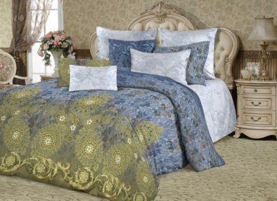 Комплект постельного белья Lux Роскошь императрицы , 1,5 спальное, перкаль, Романтика Славы Зайцева