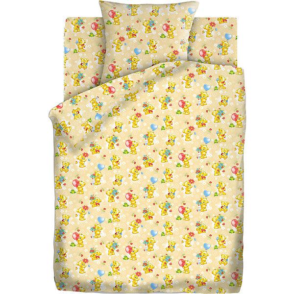 Детское постельное белье 3 предмета Кошки-мышки, Мишки-игрушки, бежевыйДетское постельное бельё<br>Комплект детского постельного белья Мишки-Игрушки, бязь, Кошки-мышки<br><br>Характеристики:<br><br>• прочное и износостойкое<br>• хорошо пропускает воздух<br>• натуральные красители<br>• в комплекте: простыня, наволочка, пододеяльник<br>• размер простыни: 150х110 см<br>• размер наволочки: 40х60 см<br>• размер пододеяльника: 112х147 см<br>• материал: бязь (100% хлопок)<br>• плотность: 98 г/м2<br>• размер упаковки: 5х20х30 см<br>• вес: 800 грамм<br>• цвет: желтый<br><br>Очаровательные медвежата позаботятся о сне вашего малыша. Комплект постельного белья изготовлен из хлопковой бязи плотностью 98 г/м2. Белье хорошо пропускает воздух, позволяя коже дышать во время отдыха. Белье приятно на ощупь и гипоаллергенно. Специальная технология окрашивания препятствует вымыванию красителей, чтобы малыш еще долго мог любоваться рисунком. Комплект украшен изображением разных медвежат, играющих с игрушками. Кроха с удовольствием будет рассматривать их перед сном! <br><br>Комплект детского постельного белья Мишки-Игрушки, бязь, Кошки-мышки можно купить в нашем интернет-магазине.<br>Ширина мм: 300; Глубина мм: 200; Высота мм: 50; Вес г: 800; Возраст от месяцев: 36; Возраст до месяцев: 216; Пол: Унисекс; Возраст: Детский; SKU: 5430857;