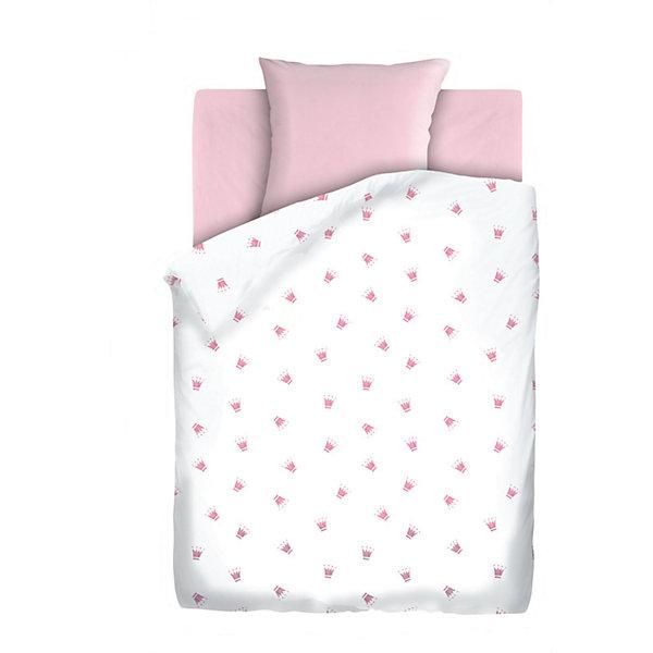 Детское постельное белье 3 предмета Непоседа, Коронки, розовый (простынь на резинке)Детское постельное бельё<br>Комплект детского постельного белья на резинке Коронки, бязь, Непоседа, розовый<br><br>Характеристики:<br><br>• прочное и износостойкое<br>• хорошо пропускает воздух<br>• удобная резинка<br>• в комплекте: простыня, наволочка, пододеяльник<br>• размер простыни: 150х110 см<br>• размер наволочки: 40х60 см<br>• размер пододеяльника: 112х147 см<br>• материал: бязь (100% хлопок)<br>• размер упаковки: 5х20х30 см<br>• вес: 800 грамм<br>• цвет: розовый<br><br>Даже во сне юным принцессам необходима корона. Постельное белье Коронки поможет малышке выбрать подходящий головной убор, достойный королевы. Белье изготовлено из качественной бязи, которая хорошо пропускает воздух и обладает высокой прочностью. Белье очень приятно на ощупь и практически не мнется. Натуральные красители не вымываются при стирках. Удобная резинка позволит вам закрепить белье на кроватке, чтобы ребенок мог спать с комфортом всю ночь.<br><br>Комплект детского постельного белья на резинке Коронки, бязь, Непоседа, розовый можно купить в нашем интернет-магазине.<br><br>Ширина мм: 300<br>Глубина мм: 200<br>Высота мм: 50<br>Вес г: 800<br>Возраст от месяцев: 36<br>Возраст до месяцев: 216<br>Пол: Унисекс<br>Возраст: Детский<br>SKU: 5430858