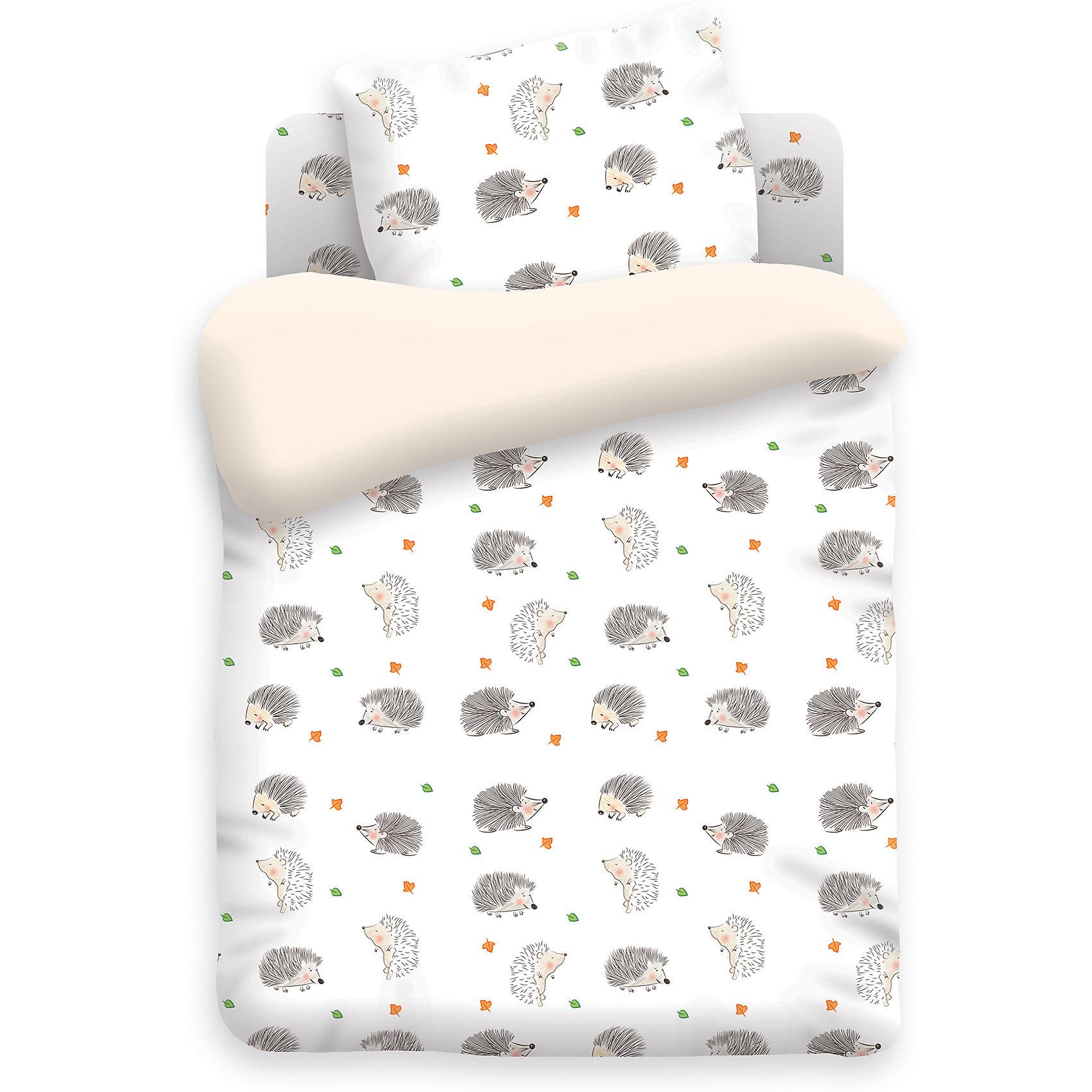 Комплект детского постельного белья на резинке Ёжики, бязь, НепоседаКомплект детского постельного белья на резинке Ёжики, бязь, Непоседа<br><br>Характеристики:<br><br>• прочное и износостойкое<br>• хорошо пропускает воздух<br>• удобная резинка<br>• в комплекте: простыня, наволочка, пододеяльник<br>• размер простыни: 150х110 см<br>• размер наволочки: 40х60 см<br>• размер пододеяльника: 112х147 см<br>• материал: бязь (100% хлопок)<br>• плотность: 98 г/м2<br>• размер упаковки: 5х20х30 см<br>• вес: 800 грамм<br><br>Постельное бельё Ёжики обеспечит вашему ребенку комфортный и приятный сон. Белье выполнено из хлопковой бязи, препятствующей появлению раздражения на коже ребенка. Белье приятное и мягкое на ощупь. А родителей порадует его прочность и износостойкость. Рисунок сохраняет свою яркость после множества стирок. Комплект украшен изображением забавных ёжиков, которых малыш с удовольствием рассмотрит перед сном.<br><br>Комплект детского постельного белья на резинке Ёжики, бязь, Непоседа вы можете купить в нашем интернет-магазине.<br><br>Ширина мм: 300<br>Глубина мм: 200<br>Высота мм: 50<br>Вес г: 800<br>Возраст от месяцев: 36<br>Возраст до месяцев: 216<br>Пол: Унисекс<br>Возраст: Детский<br>SKU: 5430860
