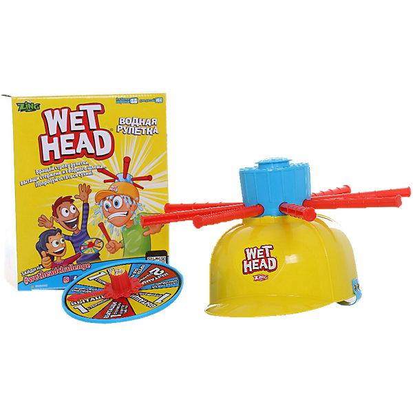Игрушка Водная Рулетка, ZingХиты продаж<br>Игрушка Водная Рулетка, Zing<br><br>Характеристики:<br><br>• Возраст: от 6 лет<br>• Материал: пластмасса<br>• Размер упаковки: 115х255х205 мм<br>• Вес: 300 г<br><br>Эта замечательная игрушка подарит вашему ребенку и его друзьям незабываемые ощущения и массу веселья. Но ее главное свойство – она абсолютно безопасна, потому что играть предстоит с водой. Множество детей любят водные игры, а это одна из тех, где их желания можно воплотить в жизнь сполна. <br><br>В процессе игры необходимо надевать на голову специальный шлем, который имеет в комплектации резервуар, наполняющийся водой. В процессе нужно вращать волчок и вытаскивать поочередно 8 стержней – только один из которых вызывает выливание воды на голову.<br><br>Игрушка Водная Рулетка, Zing можно купить в нашем интернет-магазине.<br><br>Ширина мм: 115<br>Глубина мм: 255<br>Высота мм: 205<br>Вес г: 300<br>Возраст от месяцев: 36<br>Возраст до месяцев: 2147483647<br>Пол: Унисекс<br>Возраст: Детский<br>SKU: 5431874