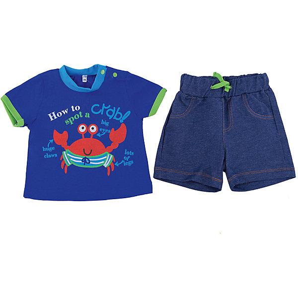 Комплект для мальчика  Soni KidsКомплекты<br>Комплект для мальчика  Soni Kids<br>Состав:<br>100% хлопок; 95% хлопок 5% лайкра кулирная гладь, футер<br>Ширина мм: 157; Глубина мм: 13; Высота мм: 119; Вес г: 200; Цвет: синий; Возраст от месяцев: 6; Возраст до месяцев: 9; Пол: Мужской; Возраст: Детский; Размер: 74,98,92,86,80; SKU: 5432199;