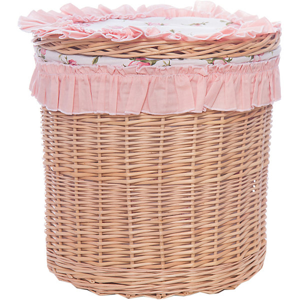 Корзина 30х30Розочка, GulSaraЯщики для игрушек<br>Характеристики:<br><br>• Пол: для девочки<br>• Тематика рисунка: цветы<br>• Сезон: круглый год<br>• Материал: бязь, хлопок 100%; лоза, дерево<br>• Цвет: розовый<br>• Размеры (В*Д): 30*30 см <br>• Упаковка: воздушно-пузырьковый полиэтилен <br>• Особенности ухода: сухая или влажная чистка<br><br>Корзина 30х30 Розочка, GulSara от отечественного швейного производства, который выпускает современный текстиль и товары для новорожденных, изготовленных на основе вековых традиций. В своем производстве GulSara использует только экологичные и натуральные материалы, что обеспечивает их безопасность даже для малышей с чувствительной кожей. <br><br>Круглая корзинка выполнена из специально выделанной лозы, декорирована текстильными элементами – рюшами. Оснащена бесшумно закрывающейся крышкой. В таком контейнере удобно хранить различные мелочи для ухода за новорожденным. Корзинка имеет компактный размер и легкий вес. <br><br>Корзина 30х30 Розочка, GulSara – стильное и комфортное решение для детской комнаты новорожденного! <br><br>Корзину 30х30 Розочка, GulSara можно купить в нашем интернет-магазине.<br><br>Ширина мм: 300<br>Глубина мм: 300<br>Высота мм: 300<br>Вес г: 2000<br>Возраст от месяцев: 0<br>Возраст до месяцев: 1200<br>Пол: Женский<br>Возраст: Детский<br>SKU: 5433396
