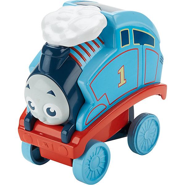 Переворачивающийся паровозик Томас, Томас и его друзьяТомас и его друзья<br>Характеристики товара:<br><br>• комплектация: паровозик Перси, упаковка<br>• материал: пластик<br>• серия: Thomas &amp; Friends<br>• возраст: от трех лет<br>• габариты упаковки:  8х18х18см<br>• срок годности: не ограничен<br>• страна бренда: США<br><br>Паровозик Томас любит пробовать новые формы игры. Теперь он научился переворачиваться через голову и при этом не падать! Активируется сальто паровозика путем нажатия на специальную кнопку. Стоит отметить, что все товары, выпускаемые компанией Mattel, полностью безопасны и соответствуют международным  требованиям по качеству материалов.<br><br>Товар «Переворачивающийся паровозик Томас, Томас и его друзья» можно приобрести в нашем интернет-магазине.<br><br>Ширина мм: 80<br>Глубина мм: 180<br>Высота мм: 180<br>Вес г: 373<br>Возраст от месяцев: 18<br>Возраст до месяцев: 48<br>Пол: Мужской<br>Возраст: Детский<br>SKU: 5434138