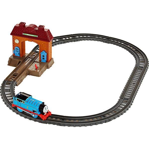 Стартовый набор, Томас и его друзьяПопулярные игрушки<br>Характеристики товара:<br><br>• комплектация: игрушка, упаковка <br>• материал: пластик<br>• серия: Fisher Price<br>• возраст: от трех лет<br>• габариты игрушки: 5,8x17,2х28 см<br>• работает от батареек типа ААА<br>• срок годности: не ограничен<br>• страна бренда: США<br><br>Новый набор отличается наличием башни с аркой, проходящей через железную дорогу. Стартовый набор позволит начать увлекательные приключения вместе с паровозиком Томасом и его друзьями! Стоит отметить, что все товары, выпускаемые компанией Mattel, полностью безопасны для ребенка и соответствуют международным  требованиям по качеству материалов. <br><br>Товар «Стартовый набор, Томас и его друзья» можно приобрести в нашем интернет-магазине.<br><br>Ширина мм: 65<br>Глубина мм: 240<br>Высота мм: 330<br>Вес г: 662<br>Возраст от месяцев: 36<br>Возраст до месяцев: 120<br>Пол: Мужской<br>Возраст: Детский<br>SKU: 5434142