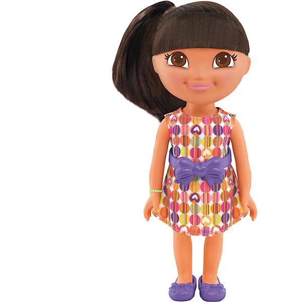 Кукла «День рождения Даши», Fisher Price, Даша-путешественницаДаша-путешественница<br>Характеристики товара:<br><br>• комплектация: игрушка, упаковка <br>• материал: пластик, текстиль<br>• серия: Fisher Price<br>• возраст: от трех лет<br>• габариты игрушки: 23х9х12,5 см<br>• срок годности: не ограничен<br>• страна бренда: США<br><br>У Даши День рождения, поэтому она сегодня такая нарядная! Исследуй окружающий мир вместе с куклой Дашей! Даша – путешественница – кукла, созданная по мотивам одноименного фильма. Высота куклы – 20 сантиметров. Стоит отметить, что все товары, выпускаемые компанией Mattel, полностью безопасны и соответствуют международным  требованиям по качеству материалов. <br><br>Товар «Кукла «День рождения Даши», Fisher Price, Даша-путешественница» можно приобрести в нашем интернет-магазине.<br>Ширина мм: 90; Глубина мм: 230; Высота мм: 125; Вес г: 329; Возраст от месяцев: 36; Возраст до месяцев: 120; Пол: Женский; Возраст: Детский; SKU: 5434144;