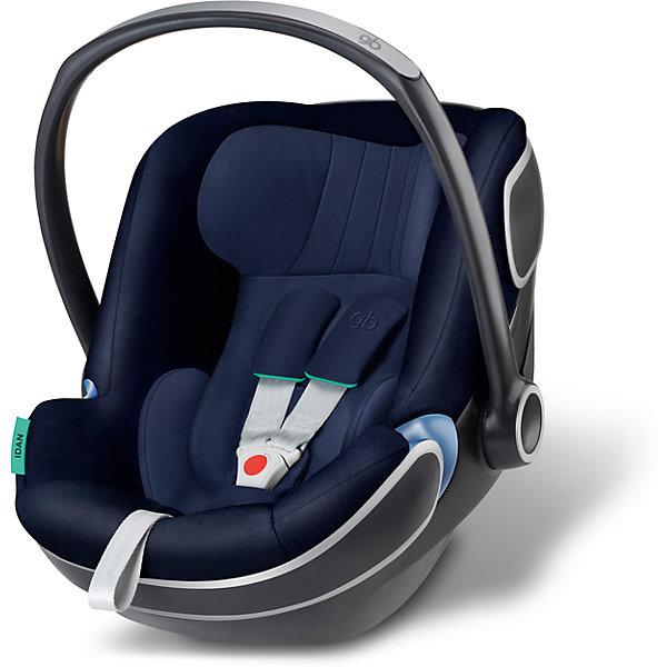 Автокресло GB Idan, 0-13 кг, Seaport BlueГруппа 0+  (до 13 кг)<br>Характеристики автокресла-переноски Idan+:<br><br>• группа: 0+<br>• вес ребенка: до 13 кг;<br>• возраст ребенка: от рождения до 12 месяцев;<br>• способ крепления: база Isofix Baseс GB или с помощью штатных ремней безопасности автомобиля;<br>• способ установки: против хода движения;<br>• материал: пластик, полиэстер;<br>• пластиковая ручка, люлька-переноска;<br>• положение ручки регулируется;<br>• 3-х точечные ремни безопасности с мягкими накладками;<br>• усиленная защита от боковых ударов;<br>• регулируется высота подголовника;<br>• имеется вкладыш для новорожденного;<br>• съемные чехлы, стирка при температуре 30 градусов;<br>• на шасси коляски GB Maris автокресло устанавливается без адаптеров, на шасси колясок GB и Cybex – с помощью адаптеров – нет в комплекте, приобретаются отдельно. <br><br>Размер автокресла: 68х44х37-57 см<br>Вес автокресла: 4,7 кг<br><br>Автокресло Idan, 0-13 кг, GB, Seaport Blue можно купить в нашем интернет-магазине.<br>Ширина мм: 730; Глубина мм: 460; Высота мм: 650; Вес г: 6900; Цвет: синий; Возраст от месяцев: 6; Возраст до месяцев: 36; Пол: Мужской; Возраст: Детский; SKU: 5434470;