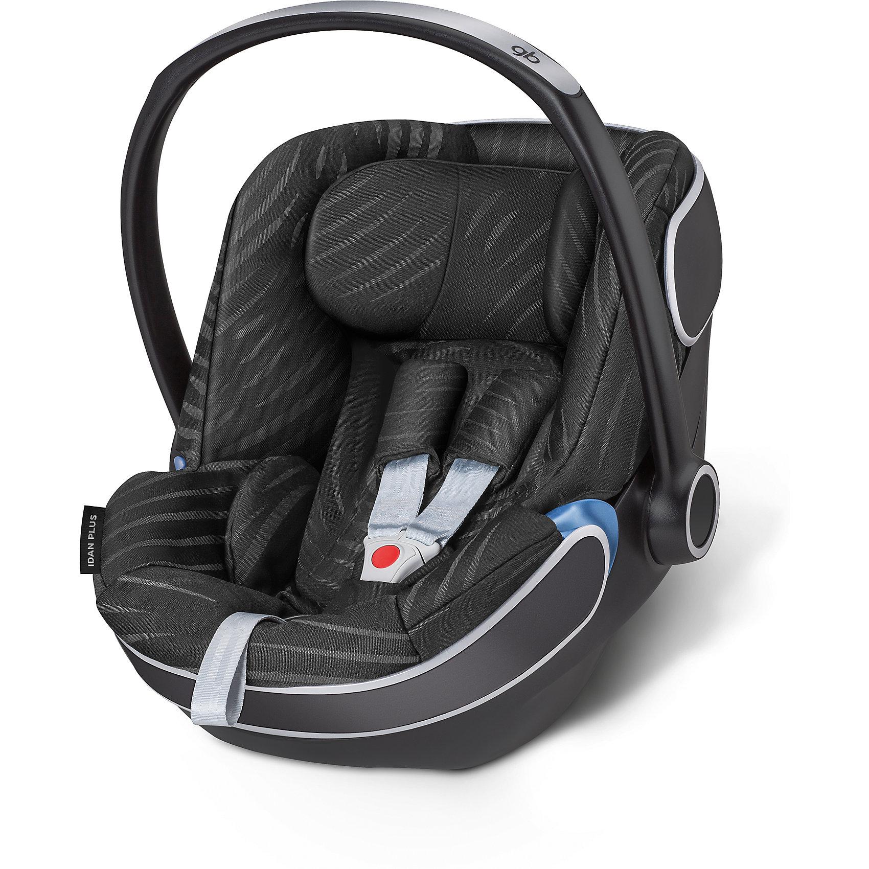 Автокресло GB Idan, 0-13 кг, Plus Lux BlackГруппа 0+ (До 13 кг)<br>Характеристики автокресла-переноски Idan+:<br><br>• группа: 0+<br>• вес ребенка: до 13 кг;<br>• возраст ребенка: от рождения до 12 месяцев;<br>• способ крепления: база Isofix Baseс GB или с помощью штатных ремней безопасности автомобиля;<br>• способ установки: против хода движения;<br>• материал: пластик, полиэстер;<br>• пластиковая ручка, люлька-переноска;<br>• положение ручки регулируется;<br>• 3-х точечные ремни безопасности с мягкими накладками;<br>• усиленная защита от боковых ударов;<br>• регулируется высота подголовника;<br>• имеется вкладыш для новорожденного;<br>• съемные чехлы, стирка при температуре 30 градусов;<br>• на шасси коляски GB Maris автокресло устанавливается без адаптеров, на шасси колясок GB и Cybex – с помощью адаптеров – нет в комплекте, приобретаются отдельно. <br><br>Размер автокресла: 68х44х37-57 см<br>Вес автокресла: 4,7 кг<br><br>Автокресло Idan, 0-13 кг, GB, Plus Lux Black можно купить в нашем интернет-магазине.<br><br>Ширина мм: 730<br>Глубина мм: 460<br>Высота мм: 650<br>Вес г: 6900<br>Возраст от месяцев: 6<br>Возраст до месяцев: 36<br>Пол: Унисекс<br>Возраст: Детский<br>SKU: 5434471