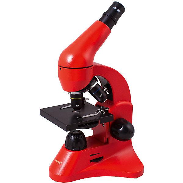 Микроскоп Levenhuk Rainbow 50L Orange\АпельсинМикроскопы<br>Характеристики товара:<br><br>• тип: световые/оптические, биологические<br>• материал: металл, пластик<br>• увеличение: до 800 крат<br>• объективы: 4х, 10х, 40<br>• подсветка: светодиодная<br>• источник питания: 220 В/50 Гц<br>• комплектация: микроскоп, окуляр WF16х, предметный столик с зажимами, линза барлоу, диск с диафрагмами, адаптер питания от сети (питание 110-220 В, 50 Гц), инструкция по эксплуатации и гарантийный талон, пинцет, инкубатор для артемии, микротом, флакон с дрожжами, флакон со смолой для изготовления препаратов, флакон с морской солью, флакон с артемией (морским рачком), 5 готовых образцов и 5 чистых предметных стекол, пипетка, пылезащитный чехол<br>• подсветка работает от батареек АА<br>• страна бренда: США<br>• страна производства: КНР<br><br>Собственный микроскоп - это отличный способ заинтересовать ребенка наукой и привить ему интерес к учебе. Эта модель микроскопа была разработана специально для детей - он позволяет увеличивать препарат в 800 крат, с помощью этого дети могут исследовать состав и структуру разнообразных предметов, веществ и организмов. Благодаря стильному дизайну этот микроскоп отлично вписывается в интерьер!<br><br>Оптические приборы от американской компании Levenhuk уже успели зарекомендовать себя как качественная и надежная продукция. Для их производства используются только безопасные и проверенные материалы. Такой прибор способен прослужить долго. Подарите ребенку интересную и полезную вещь!<br><br>Микроскоп Levenhuk Rainbow 50L Orange\Апельсин от известного бренда Levenhuk (Левенгук) можно купить в нашем интернет-магазине.<br><br>Ширина мм: 180<br>Глубина мм: 405<br>Высота мм: 270<br>Вес г: 2780<br>Возраст от месяцев: 60<br>Возраст до месяцев: 2147483647<br>Пол: Унисекс<br>Возраст: Детский<br>SKU: 5435273