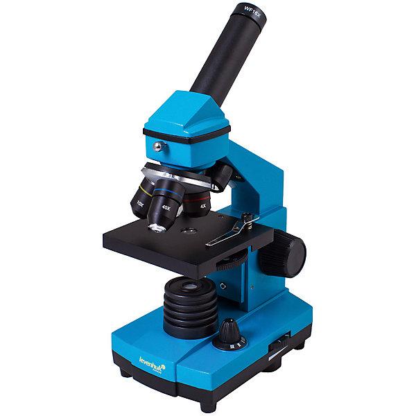 Микроскоп Levenhuk Rainbow 2L PLUS Azure\ЛазурьМикроскопы<br>Характеристики товара:<br><br>• материал: металл, пластик<br>• увеличение: до 640 крат<br>• набор для опытов в комплекте<br>• прочный металлический корпус<br>• подсветка: светодиод<br>• лампа работает от батареек 3хАА<br>• комплектация: микроскоп, объективы: 4х, 10х и 40хs, окуляр: WF16x, Предметный столик с зажимами, диск с диафрагмами, конденсор, встроенные нижний и верхний осветители на светодиодах, сетевой адаптер (питание 220 В, 50 Гц), инструкция по эксплуатации и гарантийный талон, пинцет, инкубатор для артемии, микротом, флакон с дрожжами, флакон со смолой для изготовления препаратов, флакон с морской солью, флакон с артемией (морским рачком), 5 готовых образцов и 5 чистых предметных стекол, пипетка, пылезащитный чехол<br>• страна бренда: США<br>• страна производства: КНР<br><br>Собственный микроскоп - это отличный способ заинтересовать ребенка наукой и привить ему интерес к учебе. Эта модель микроскопа была разработана специально для детей - он позволяет увеличивать препарат в 640 крат, с помощью этого дети могут исследовать состав и структуру разнообразных предметов, веществ и организмов. Благодаря стильному дизайну этот микроскоп отлично вписывается в интерьер!<br><br>Оптические приборы от американской компании Levenhuk уже успели зарекомендовать себя как качественная и надежная продукция. Для их производства используются только безопасные и проверенные материалы. Такой прибор способен прослужить долго. Подарите ребенку интересную и полезную вещь!<br><br>Микроскоп Levenhuk Rainbow 2L PLUS Azure\Лазурь от известного бренда Levenhuk (Левенгук) можно купить в нашем интернет-магазине.<br>Ширина мм: 230; Глубина мм: 150; Высота мм: 370; Вес г: 1840; Возраст от месяцев: 60; Возраст до месяцев: 2147483647; Пол: Унисекс; Возраст: Детский; SKU: 5435276;