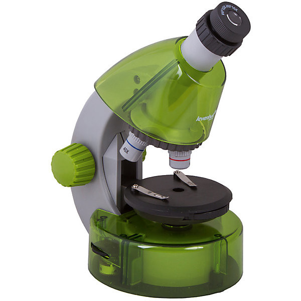 Микроскоп Levenhuk LabZZ M101 Lime\ЛаймМикроскопы<br>Характеристики товара:<br><br>• материал: металл, пластик<br>• увеличение: до 640 крат<br>• объективы: 4х, 10х, 40х<br>• подсветка: светодиодная<br>• подсветка работает от батареек 2хАА<br>• комплектация: микроскоп, окуляр WF16х, предметный столик с зажимами, диск с диафрагмами, адаптер питания от сети (питание 110-220 В, 50 Гц), инструкция по эксплуатации и гарантийный талон, пинцет, инкубатор для артемии, микротом, флакон с дрожжами, флакон со смолой для изготовления препаратов, флакон с морской солью, флакон с артемией (морским рачком), 5 готовых образцов и 5 чистых предметных стекол, пипетка, пылезащитный чехол<br>• страна бренда: США<br>• страна производства: КНР<br><br>Собственный микроскоп - это отличный способ заинтересовать ребенка наукой и привить ему интерес к учебе. Эта модель микроскопа была разработана специально для детей - он позволяет увеличивать препарат в 640 крат, с помощью этого дети могут исследовать состав и структуру разнообразных предметов, веществ и организмов. Благодаря стильному дизайну этот микроскоп отлично вписывается в интерьер!<br><br>Оптические приборы от американской компании Levenhuk уже успели зарекомендовать себя как качественная и надежная продукция. Для их производства используются только безопасные и проверенные материалы. Такой прибор способен прослужить долго. Подарите ребенку интересную и полезную вещь!<br><br>Микроскоп Levenhuk LabZZ M101 Lime\Лайм от известного бренда Levenhuk (Левенгук) можно купить в нашем интернет-магазине.<br><br>Ширина мм: 130<br>Глубина мм: 185<br>Высота мм: 270<br>Вес г: 930<br>Возраст от месяцев: 60<br>Возраст до месяцев: 2147483647<br>Пол: Унисекс<br>Возраст: Детский<br>SKU: 5435286