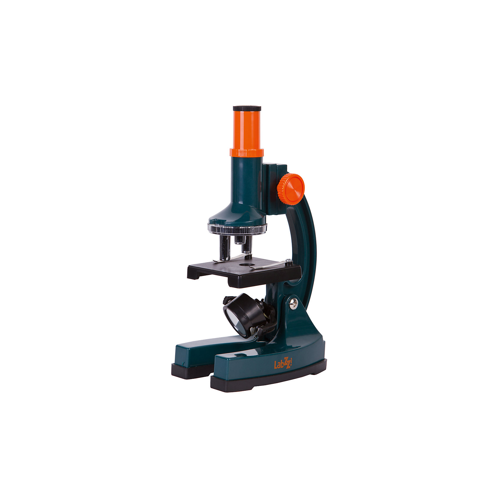 Микроскоп Levenhuk LabZZ M2Характеристики товара:<br><br>• материал: металл, пластик<br>• увеличение: до 900 крат<br>• набор для опытов в комплекте<br>• легкий пластиковый корпус<br>• подсветка: зеркало или встроенная лампа накаливания<br>• лампа работает от батареек 2хАА<br>• комплектация: микроскоп, окуляр, пипетка, лопатка, скальпель, пестик, готовые микропрепараты (3 шт.), предметные стекла (3 шт.), покровные стекла (6 шт.), наклейки для стекол (6 шт.), фиксатор, морская соль, флакон с артемией, инкубатор для артемии<br>• диаметр окулярной трубки: 17 мм<br>• страна бренда: США<br>• страна производства: КНР<br><br>Собственный микроскоп - это отличный способ заинтересовать ребенка наукой и привить ему интерес к учебе. Эта модель микроскопа была разработана специально для детей - он позволяет увеличивать препарат в 900 крат, с помощью этого дети могут исследовать состав и структуру разнообразных предметов, веществ и организмов. Благодаря стильному дизайну этот микроскоп отлично вписывается в интерьер!<br><br>Оптические приборы от американской компании Levenhuk уже успели зарекомендовать себя как качественная и надежная продукция. Для их производства используются только безопасные и проверенные материалы. Такой прибор способен прослужить долго. Подарите ребенку интересную и полезную вещь!<br><br>Микроскоп Levenhuk LabZZ M2 от известного бренда Levenhuk (Левенгук) можно купить в нашем интернет-магазине.<br><br>Ширина мм: 82<br>Глубина мм: 280<br>Высота мм: 290<br>Вес г: 444<br>Возраст от месяцев: 60<br>Возраст до месяцев: 2147483647<br>Пол: Унисекс<br>Возраст: Детский<br>SKU: 5435290