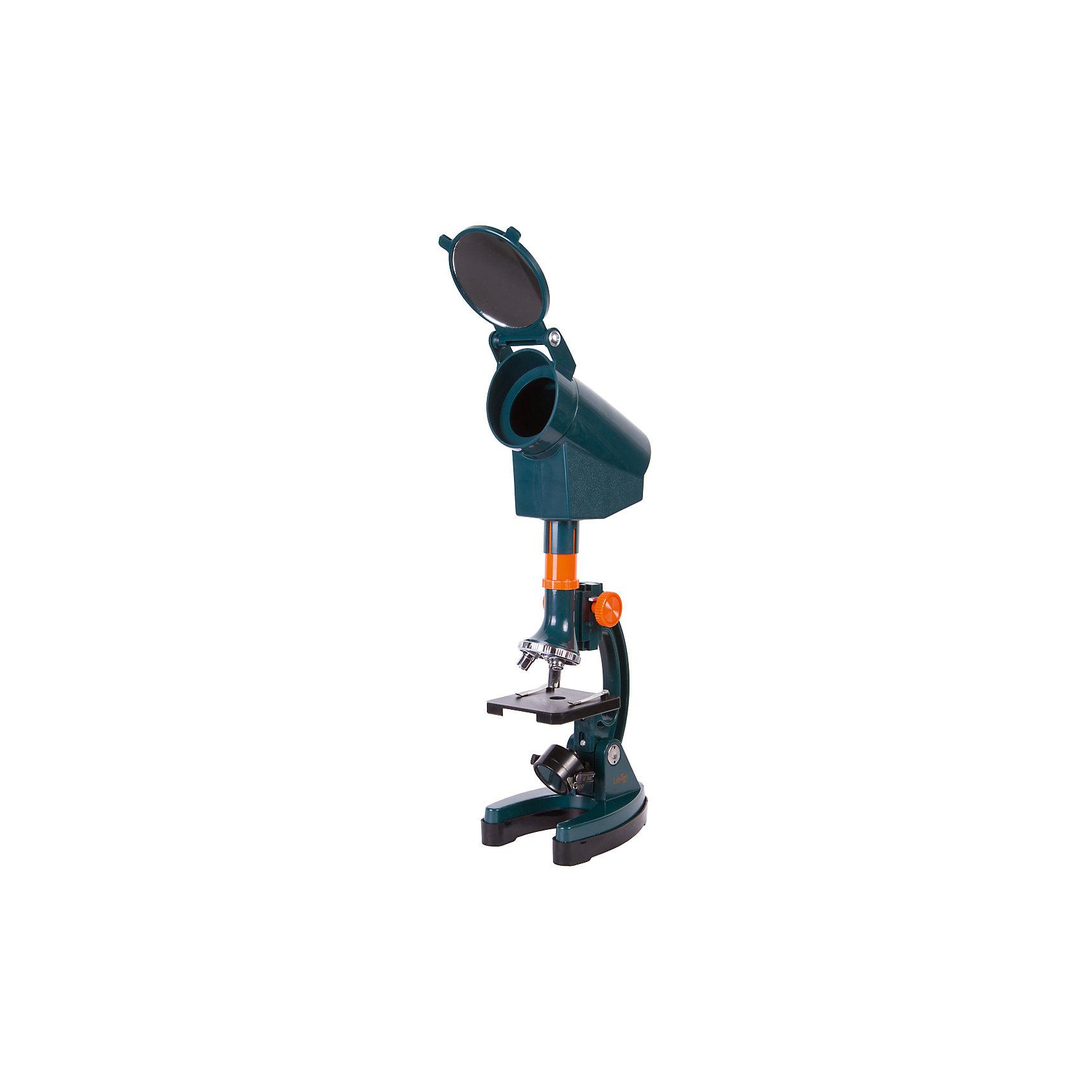 Микроскоп Levenhuk LabZZ M3Микроскопы<br>Характеристики товара:<br><br>• тип: световые/оптические, биологические<br>• материал: металл, пластик<br>• увеличение: до 1200 крат<br>• объективы: 30х, 60х, 120х<br>• подсветка: нижняя<br>• прочный металлический корпус<br>• комплектация: микроскоп, 100 аксессуаров (окулярный проектор, набор для опытов, сумка)<br>• подсветка работает от батареек 2хАА<br>• страна бренда: США<br>• страна производства: КНР<br><br>Собственный микроскоп - это отличный способ заинтересовать ребенка наукой и привить ему интерес к учебе. Эта модель микроскопа была разработана специально для детей - он позволяет увеличивать препарат в 800 крат, с помощью этого дети могут исследовать состав и структуру разнообразных предметов, веществ и организмов. Благодаря стильному дизайну этот микроскоп отлично вписывается в интерьер!<br><br>Оптические приборы от американской компании Levenhuk уже успели зарекомендовать себя как качественная и надежная продукция. Для их производства используются только безопасные и проверенные материалы. Такой прибор способен прослужить долго. Подарите ребенку интересную и полезную вещь!<br><br>Микроскоп Levenhuk LabZZ M3 от известного бренда Levenhuk (Левенгук) можно купить в нашем интернет-магазине.<br><br>Ширина мм: 100<br>Глубина мм: 595<br>Высота мм: 385<br>Вес г: 2220<br>Возраст от месяцев: 60<br>Возраст до месяцев: 2147483647<br>Пол: Унисекс<br>Возраст: Детский<br>SKU: 5435291