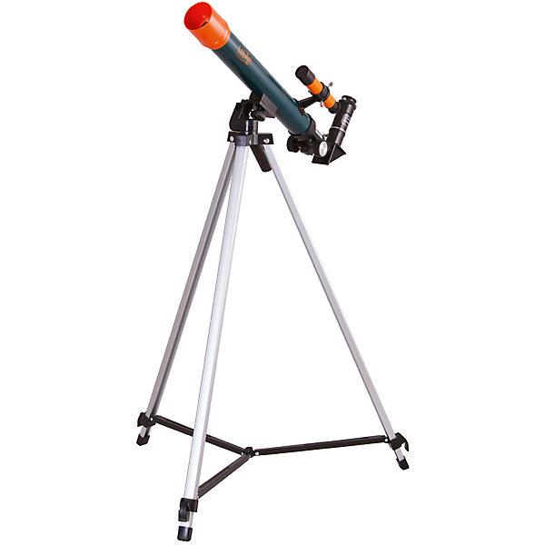 Телескоп Levenhuk LabZZ T1Телескопы<br>Характеристики товара:<br><br>• материал: металл, пластик<br>• тип телескопа: рефрактор<br>• максимальное полезное увеличение: 40 крат<br>• светосила (относительное отверстие): 12/5<br>• световой диаметр (Апертура): 40 мм<br>• посадочный диаметр окуляров: 0,96, окуляры 20 мм (25х), 12,5 мм (40х), оборачивающий окуляр 1,5х<br>• искатель : оптический, 2х<br>• тренога алюминиевая<br>• высота треноги регулируемая: 650–1150 мм<br>• тип монтировки: азимутальная<br>• комплектация: труба, окуляры, тренога, зеркало<br>• страна бренда: США<br>• страна производства: КНР<br><br>Телескоп - это отличный способ заинтересовать ребенка наблюдениями за наземными объектами и привить ему интерес к учебе. Эта модель была разработана специально для детей - он позволяет увеличивать предметы из космоса и изучать их. Благодаря легкому и прочному корпусу телескоп удобно брать с собой!<br><br>Оптические приборы от американской компании Levenhuk уже успели зарекомендовать себя как качественная и надежная продукция. Для их производства используются только безопасные и проверенные материалы. Такой прибор способен прослужить долго. Подарите ребенку интересную и полезную вещь!<br><br>Телескоп Levenhuk LabZZ T1 от известного бренда Levenhuk (Левенгук) можно купить в нашем интернет-магазине.<br><br>Ширина мм: 730<br>Глубина мм: 220<br>Высота мм: 80<br>Вес г: 1404<br>Возраст от месяцев: 60<br>Возраст до месяцев: 2147483647<br>Пол: Унисекс<br>Возраст: Детский<br>SKU: 5435296