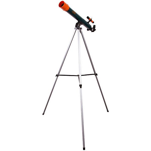 Телескоп Levenhuk LabZZ T2Телескопы<br>Характеристики товара:<br><br>• материал: металл, пластик<br>• тип телескопа: рефрактор<br>• максимальное полезное увеличение: 100 крат<br>• светосила (относительное отверстие): 12<br>• световой диаметр (Апертура): 50 мм<br>• посадочный диаметр окуляров: 0,96, окуляры 4 мм (175х), 12,5 мм (56х), оборачивающий окуляр 1,5х<br>• искатель : оптический, 2х<br>• тренога алюминиевая<br>• высота треноги регулируемая: 650–1150 мм<br>• тип монтировки: азимутальная<br>• комплектация: труба, окуляры, тренога, зеркало<br>• страна бренда: США<br>• страна производства: КНР<br><br>Телескоп - это отличный способ заинтересовать ребенка наблюдениями за наземными и небесными объектами и привить ему интерес к учебе. Эта модель была разработана специально для детей - он позволяет увеличивать предметы из космоса и изучать их. Благодаря легкому и прочному корпусу телескоп удобно брать с собой!<br><br>Оптические приборы от американской компании Levenhuk уже успели зарекомендовать себя как качественная и надежная продукция. Для их производства используются только безопасные и проверенные материалы. Такой прибор способен прослужить долго. Подарите ребенку интересную и полезную вещь!<br><br>Телескоп Levenhuk LabZZ T2 от известного бренда Levenhuk (Левенгук) можно купить в нашем интернет-магазине.<br><br>Ширина мм: 700<br>Глубина мм: 218<br>Высота мм: 82<br>Вес г: 1368<br>Возраст от месяцев: 60<br>Возраст до месяцев: 2147483647<br>Пол: Унисекс<br>Возраст: Детский<br>SKU: 5435297