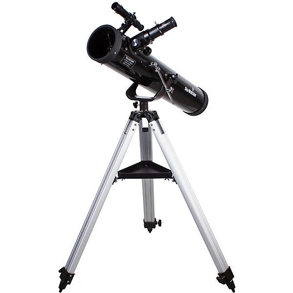 Телескоп Sky-Watcher BK 767AZ1Телескопы<br>Характеристики товара:<br><br>• материал: металл, пластик<br>• тип телескопа: рефлектор<br>• максимальное полезное увеличение: 152 крат<br>• светосила (относительное отверстие): f/9,2<br>• окуляры в комплекте Super 25 мм, Super 10 мм<br>• посадочный диаметр окуляров: 1,25 дюймов<br>• искатель: оптический, 6x24<br>• тип управления телескопом: ручной<br>• фокусное расстояние: 700 мм<br>• тип монтировки: азимутальная<br>• габариты в упаковке: 100х26х32 см<br>• вес в упаковке: 6 кг<br>• страна бренда: КНР<br>• страна производства: КНР<br><br>Телескоп - это отличный способ заинтересовать ребенка наблюдениями за небесными телами и привить ему интерес к учебе. Эта модель была разработана специально для детей - он позволяет увеличивать предметы из космоса и изучать их. Благодаря легкому и прочному корпусу телескоп удобно брать с собой!<br><br>Оптические приборы от компании Sky-Watcher уже успели зарекомендовать себя как качественная и надежная продукция. Для их производства используются только безопасные и проверенные материалы. Такой прибор способен прослужить долго. Подарите ребенку интересную и полезную вещь!<br><br>Телескоп Sky-Watcher BK 767AZ1, можно купить в нашем интернет-магазине.<br>Ширина мм: 1000; Глубина мм: 260; Высота мм: 320; Вес г: 6750; Возраст от месяцев: 60; Возраст до месяцев: 2147483647; Пол: Унисекс; Возраст: Детский; SKU: 5435329;