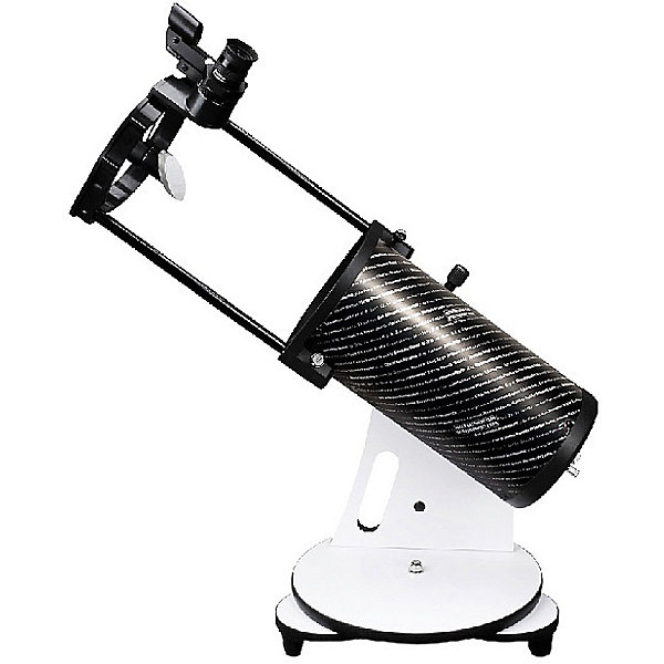 Телескоп Sky-Watcher Dob 130/650 Heritage Retractable, настольныйТелескопы<br>Характеристики товара:<br><br>• материал: металл, пластик<br>• тип телескопа: рефлектор<br>• максимальное полезное увеличение: 260 крат<br>• светосила (относительное отверстие): f/5<br>• окуляры в комплекте 10 мм, 25 мм<br>• посадочный диаметр окуляров: 1,25 дюймов<br>• искатель с красной точкой<br>• тип управления телескопом: ручной<br>• фокусное расстояние: 650 мм<br>• тип монтировки: азимутальная<br>• габариты в упаковке: 53х40х40 см<br>• вес в упаковке: 9 кг<br>• страна бренда: КНР<br>• страна производства: КНР<br><br>Телескоп - это отличный способ заинтересовать ребенка наблюдениями за небесными телами и привить ему интерес к учебе. Эта модель была разработана специально для детей - он позволяет увеличивать предметы из космоса и изучать их. Благодаря легкому и прочному корпусу телескоп удобно брать с собой!<br><br>Оптические приборы от компании Sky-Watcher уже успели зарекомендовать себя как качественная и надежная продукция. Для их производства используются только безопасные и проверенные материалы. Такой прибор способен прослужить долго. Подарите ребенку интересную и полезную вещь!<br><br>Телескоп Sky-Watcher Dob 130/650 Heritage Retractable, настольный, можно купить в нашем интернет-магазине.<br><br>Ширина мм: 530<br>Глубина мм: 400<br>Высота мм: 400<br>Вес г: 9000<br>Возраст от месяцев: 60<br>Возраст до месяцев: 2147483647<br>Пол: Унисекс<br>Возраст: Детский<br>SKU: 5435333